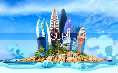 SUP - Inspiracja na wspaniałe wakacje!