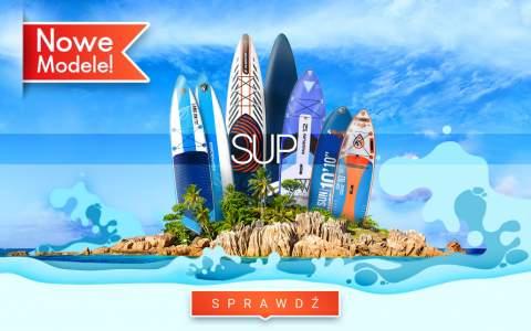 SUP - Nowe modele już w sprzedaży!