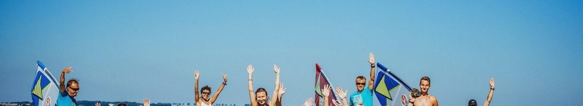 Instruktorzy w naszej szkole wind&kite FunSurf.pl testują naszą ofertę!