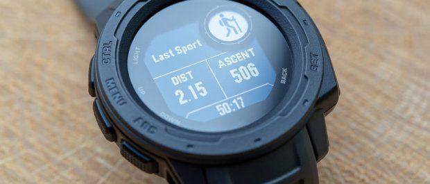 Zegarek sportowy, który nie przestraszy się wody