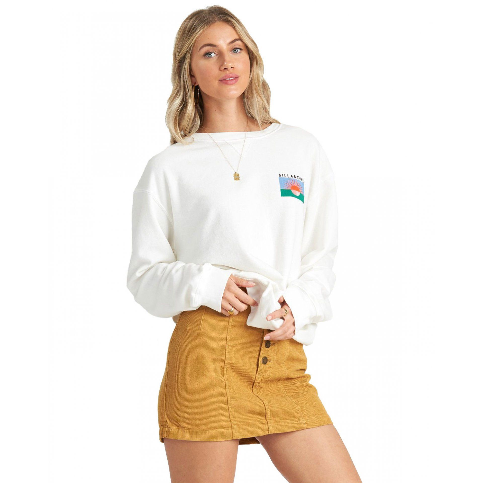 BLUZA BILLABONG SURF VIBE S3CR09BIP0 4194 SALT CRYSTAL