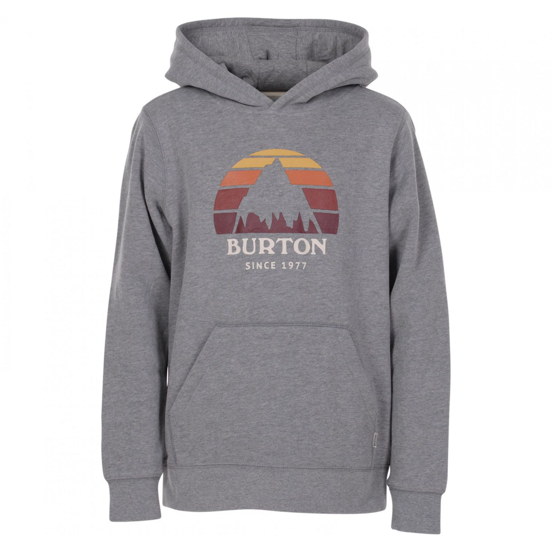 BLUZA BURTON BOYS UNDERHILL PULLOVER GREY HEATHER