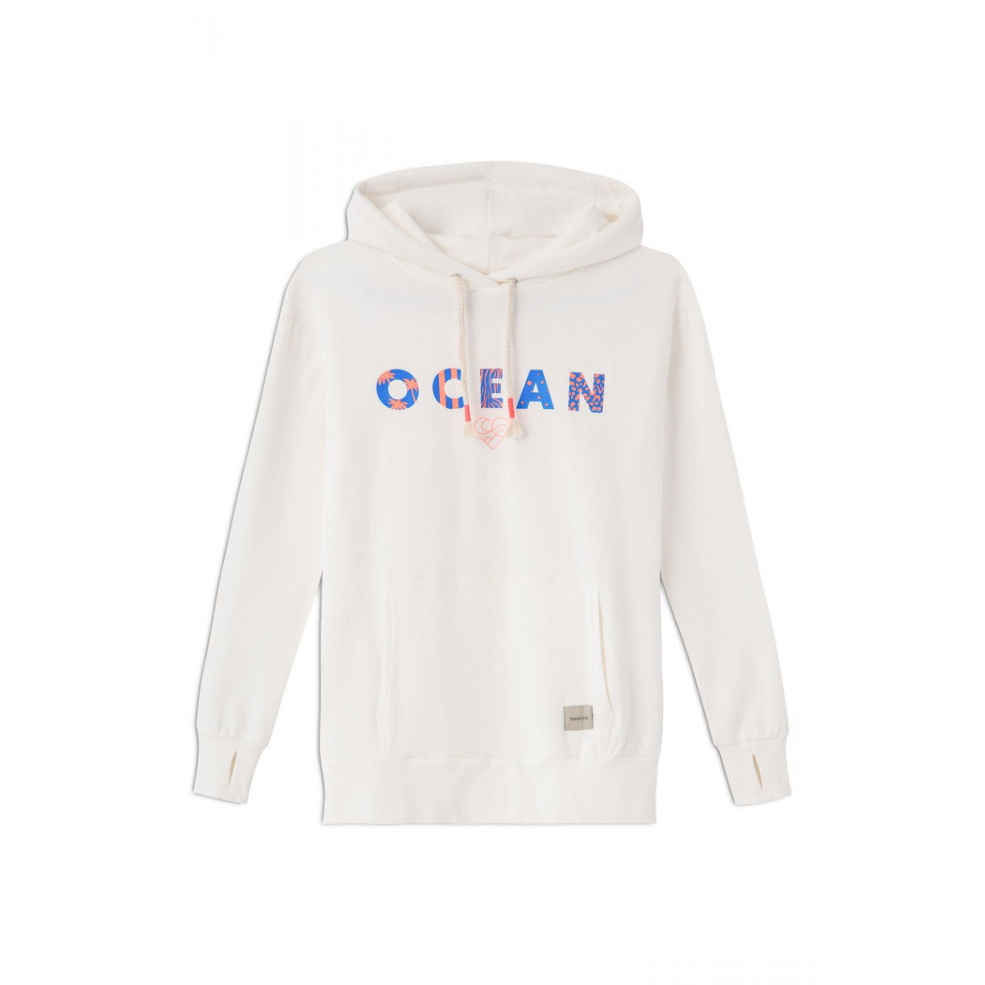 BLUZA FEMI STORIES OCEAN WHITE