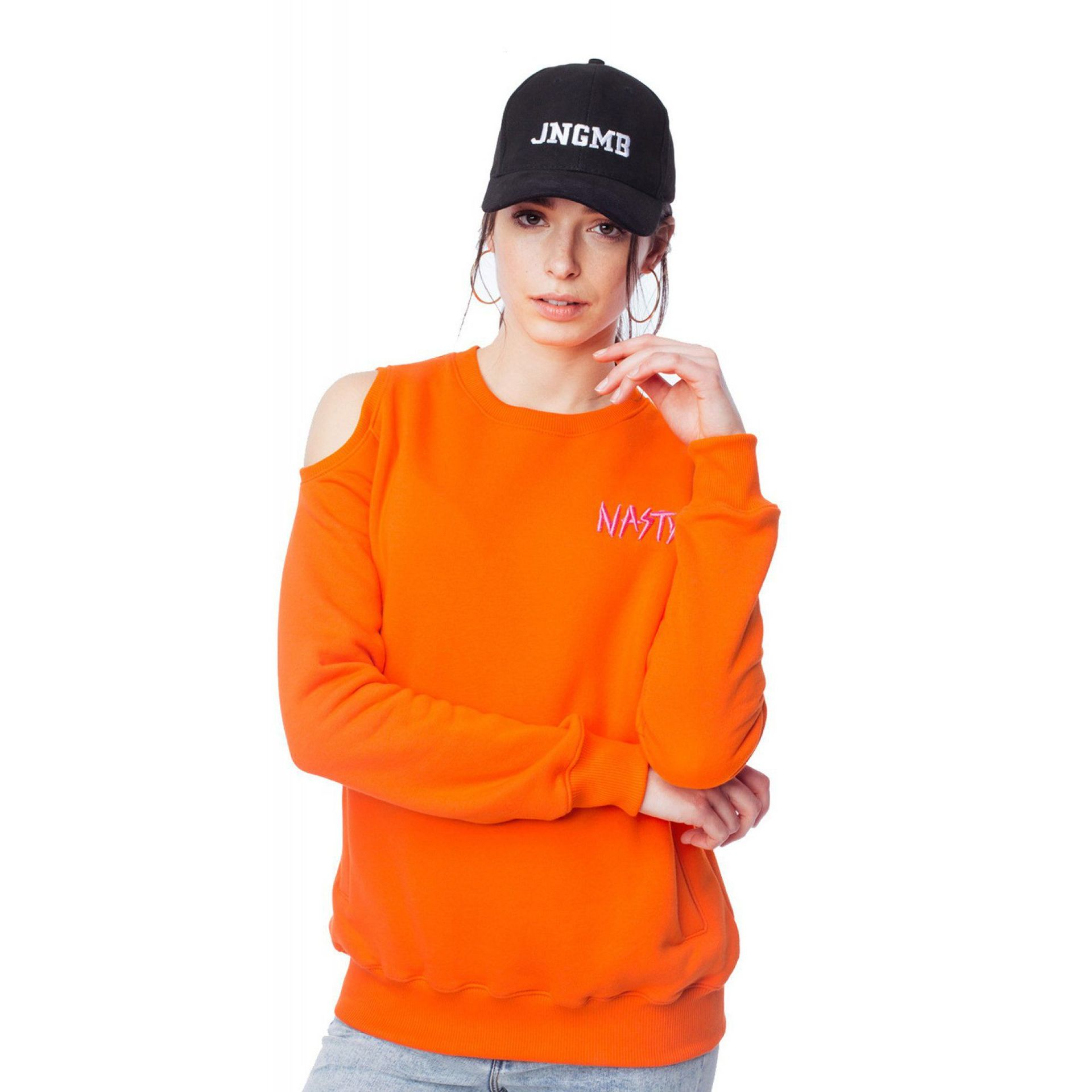 BLUZA JUNGMOB NASTY ORANGE
