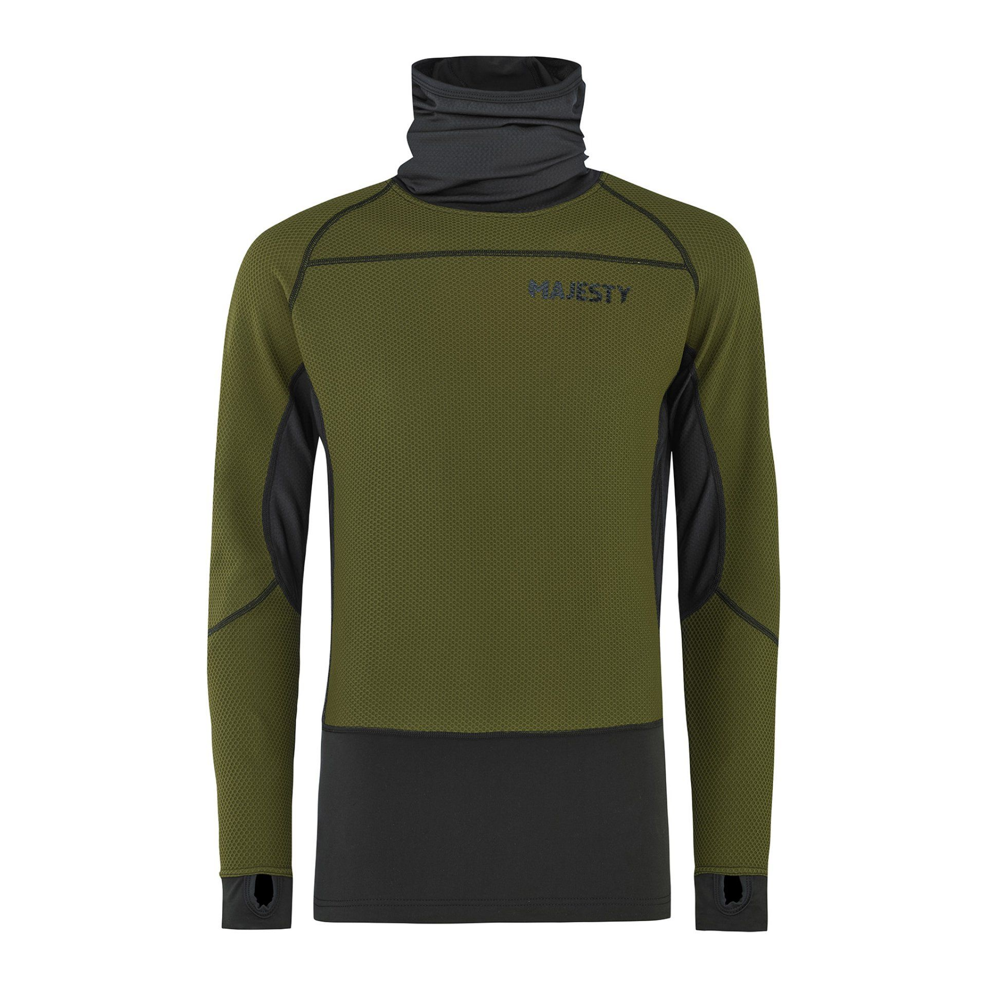 BLUZA MAJESTY HEATSHIELD ARMY GREEN 21 1