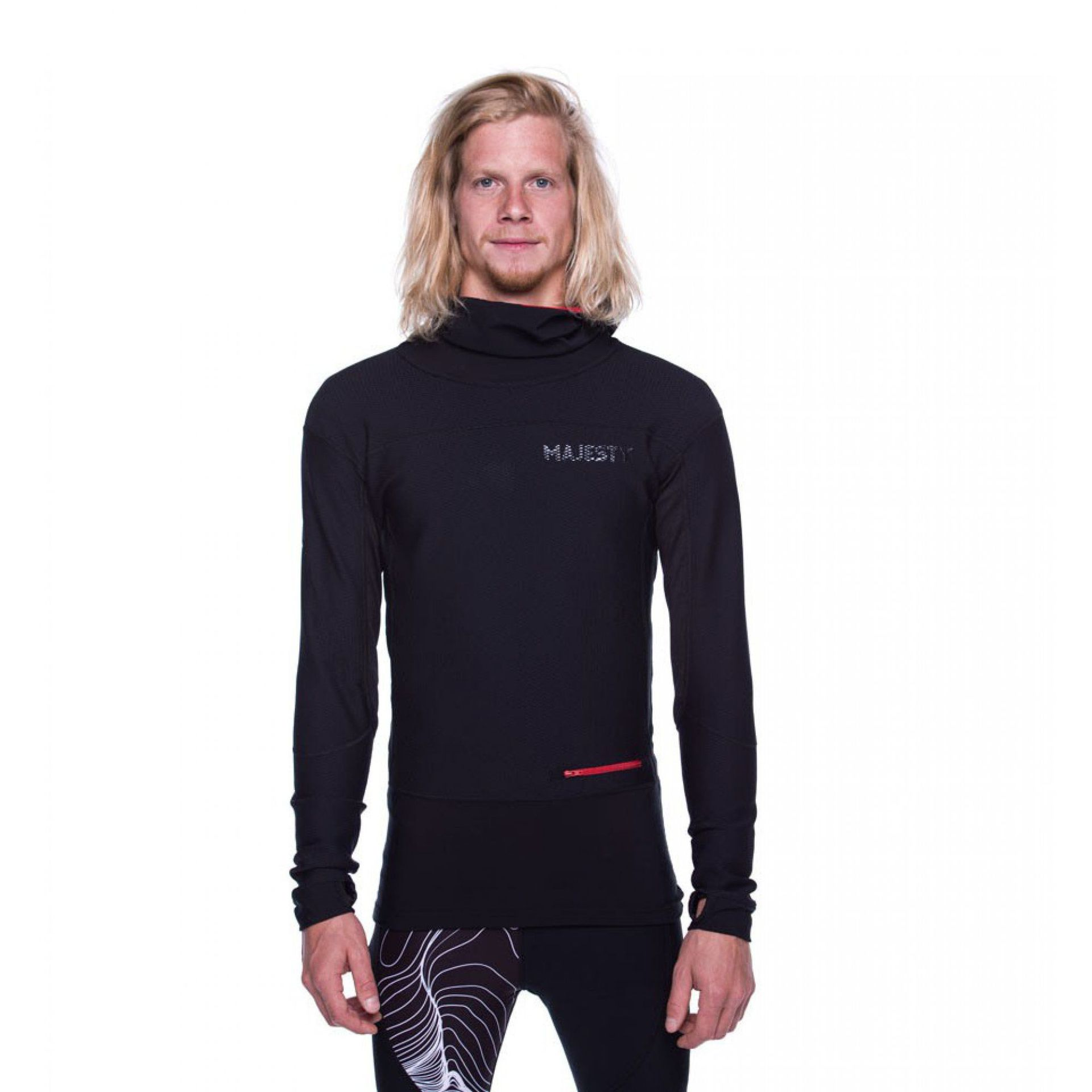 BLUZA MAJESTY HEATSHIELD BLACK 1