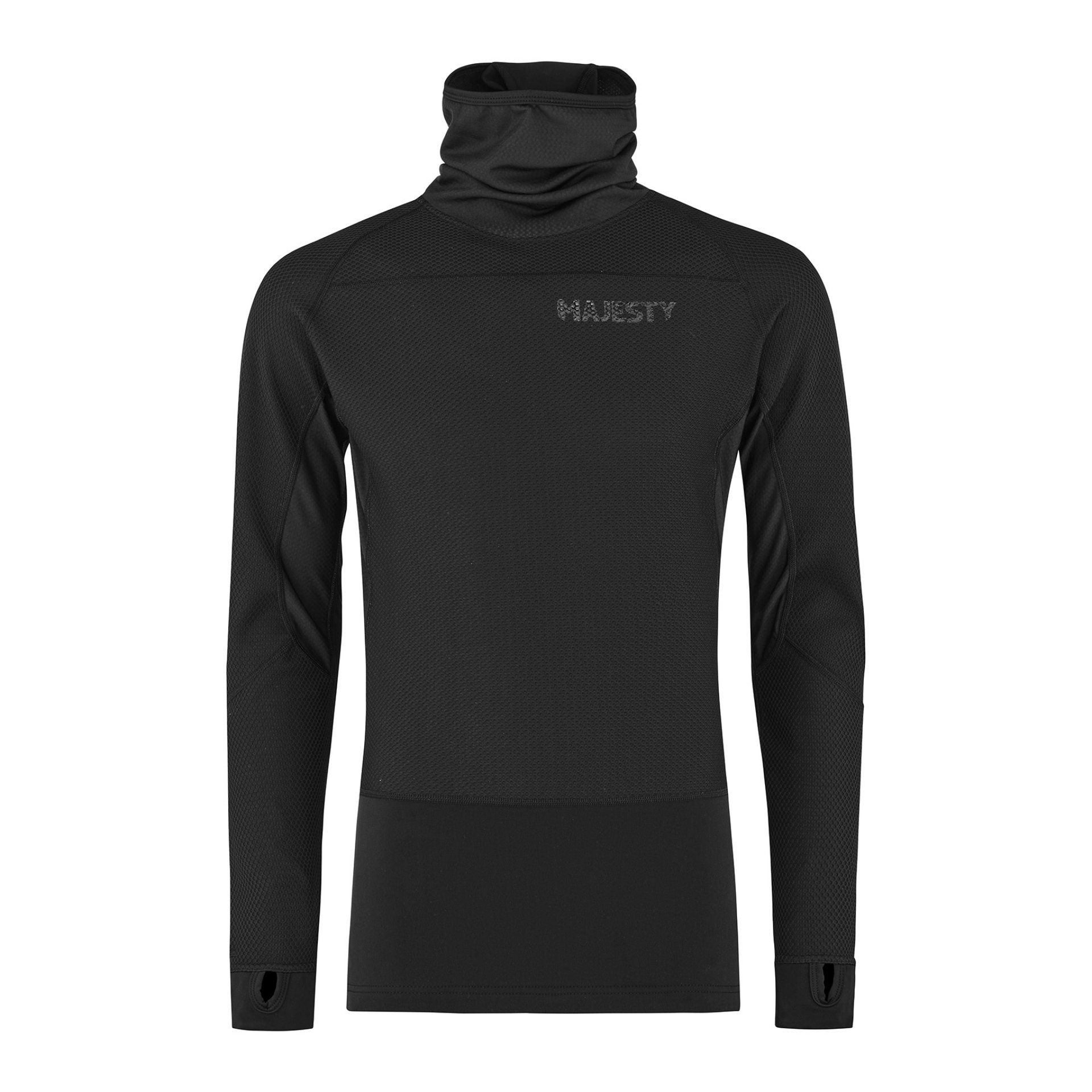 BLUZA MAJESTY HEATSHIELD BLACK 21 1