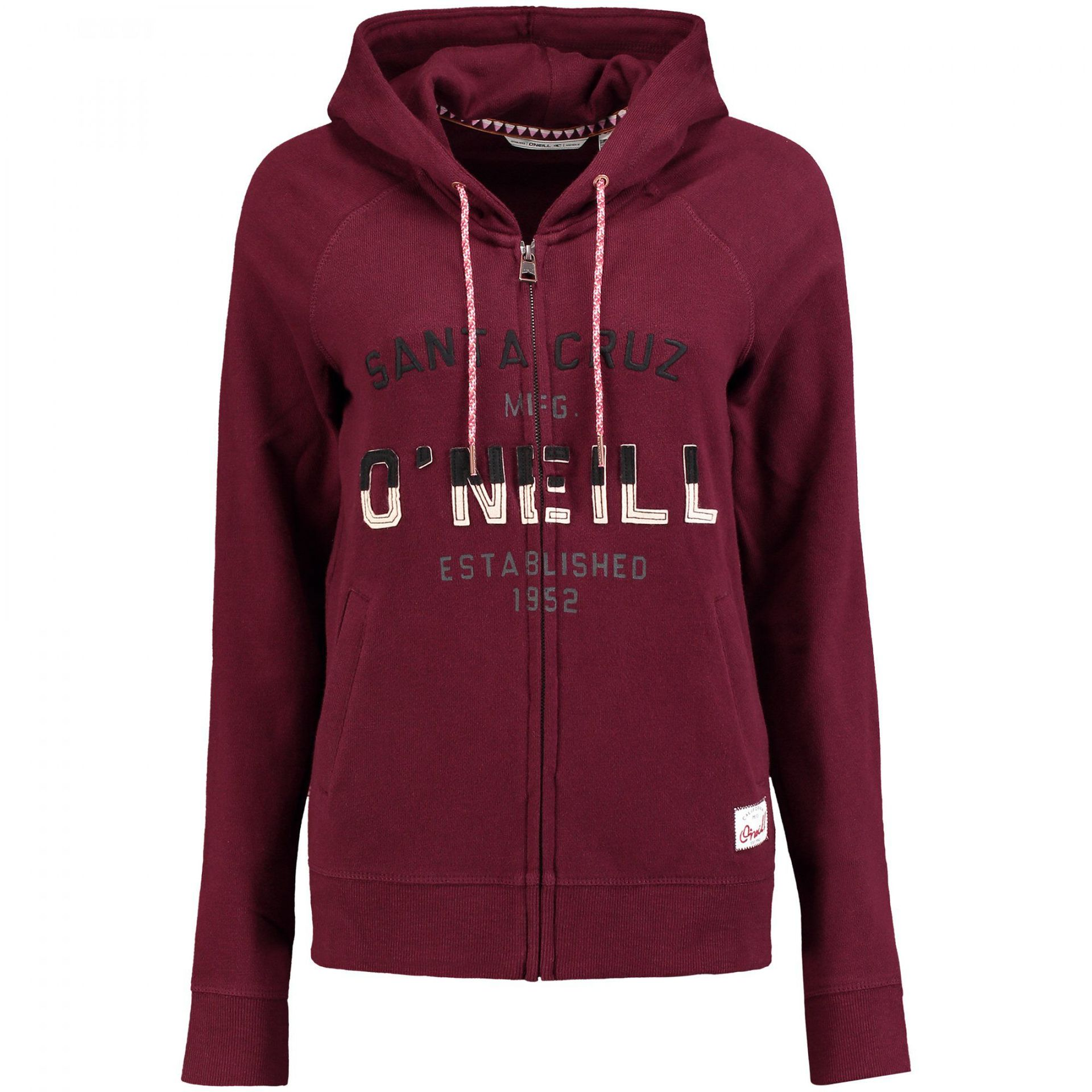 BLUZA ONEILL  EASY FANTASTIC SWEATSHIRT FIG RED