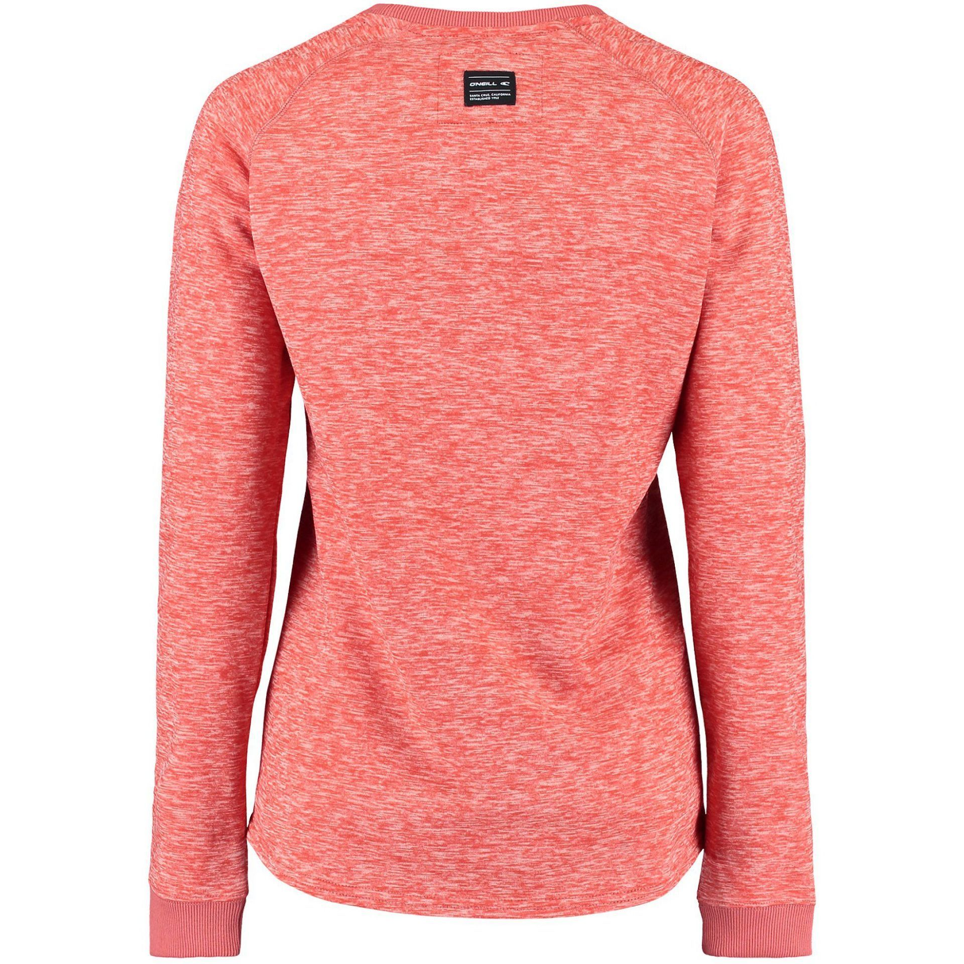 BLUZA ONEILL OVAL FLEECE BURNT SIENNA TYŁ