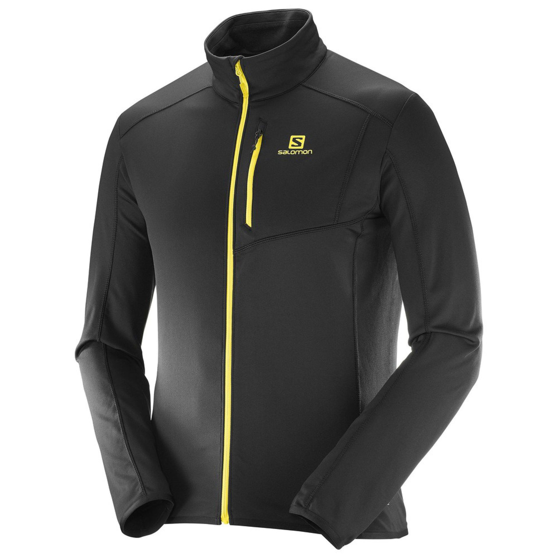 BLUZA SALOMON DISCOVERY FZ BLAZING YELLOW