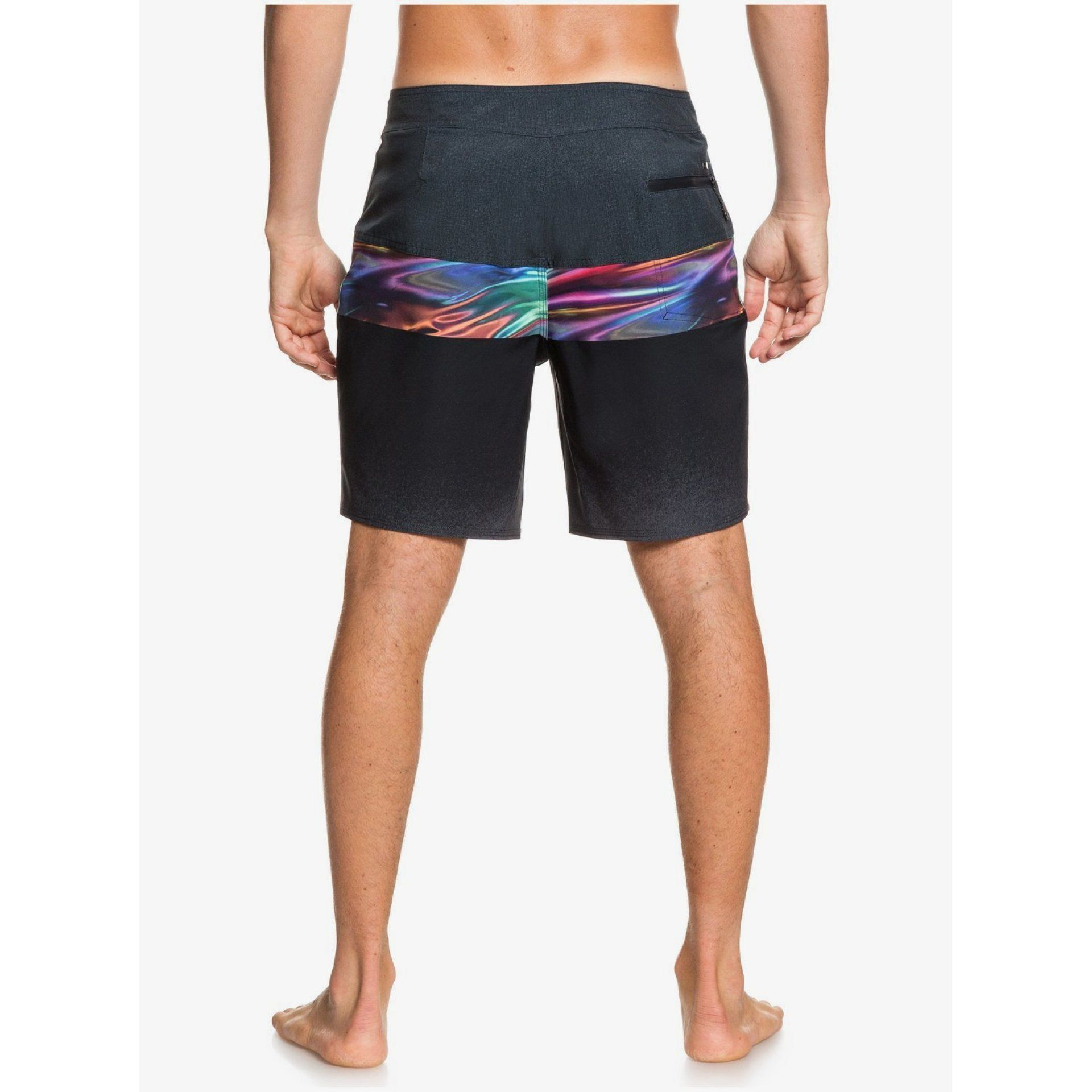 BOARDSHORTY QUIKSILVER HIGHLINE HOLD DOWN EQYBS04321 KVJ6 TYŁ