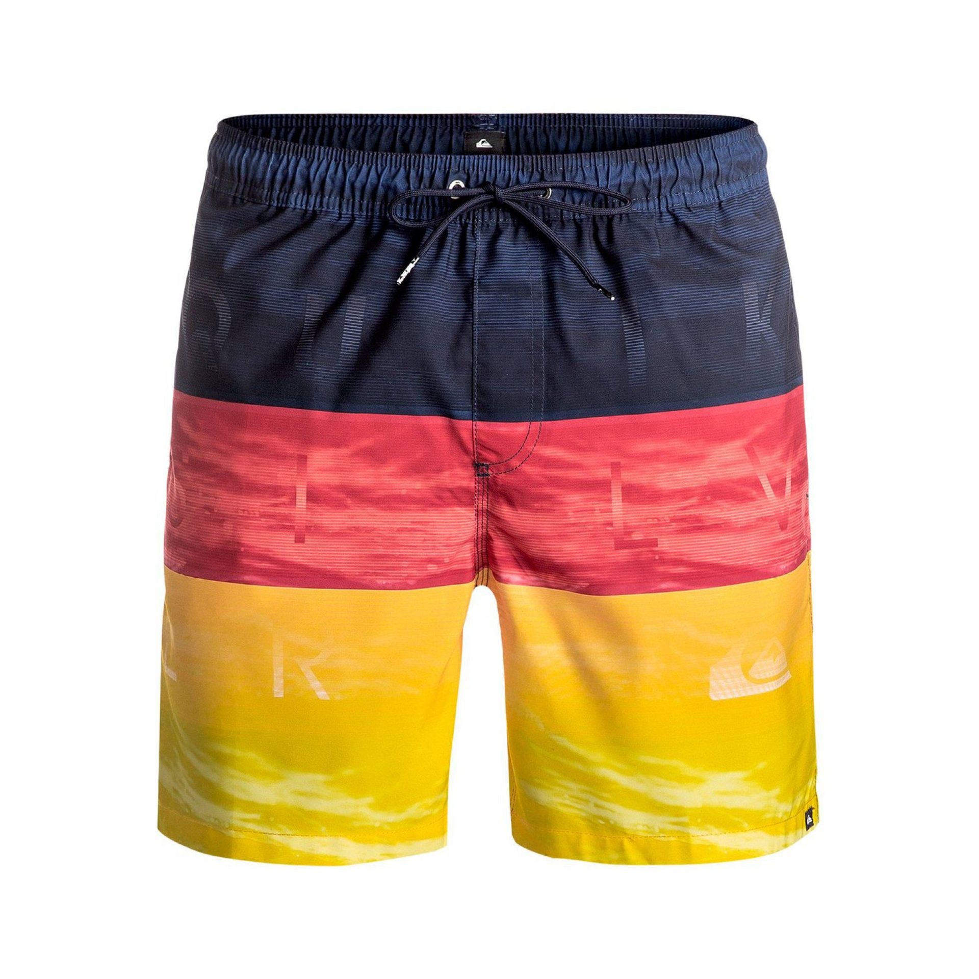 BOARDSHORTY QUIKSILVER WORD WAVES VOLLEY 17 MKM6
