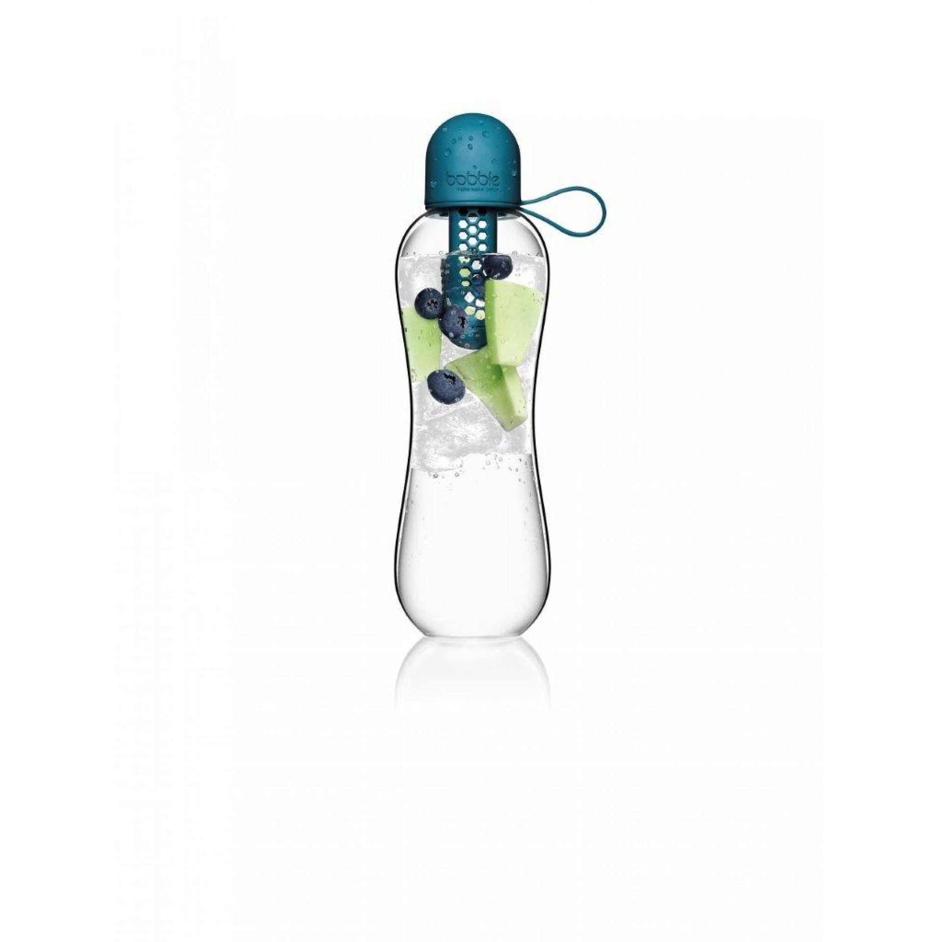 BUTELKA BOBBLE INFUSE 590ML PEACOCK