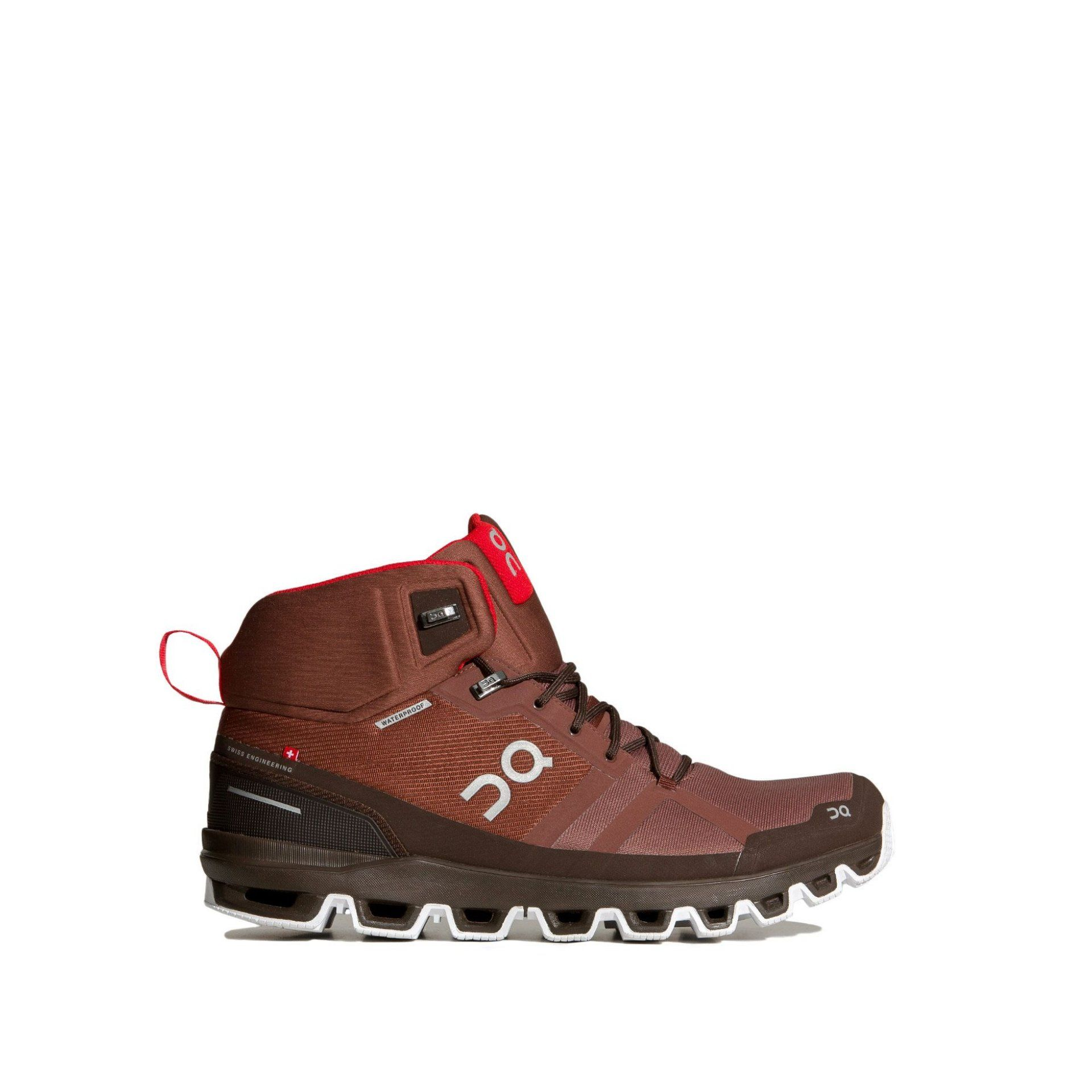 BUTY DO BIEGANIA ON RUNNING CLOUDROCK WATERPROOF M COCOA|RED 1