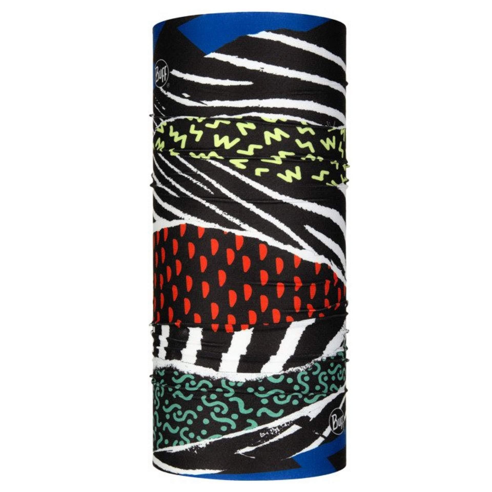 CHUSTA BUFF COOLNET UV+ BLOCKADE BLACK