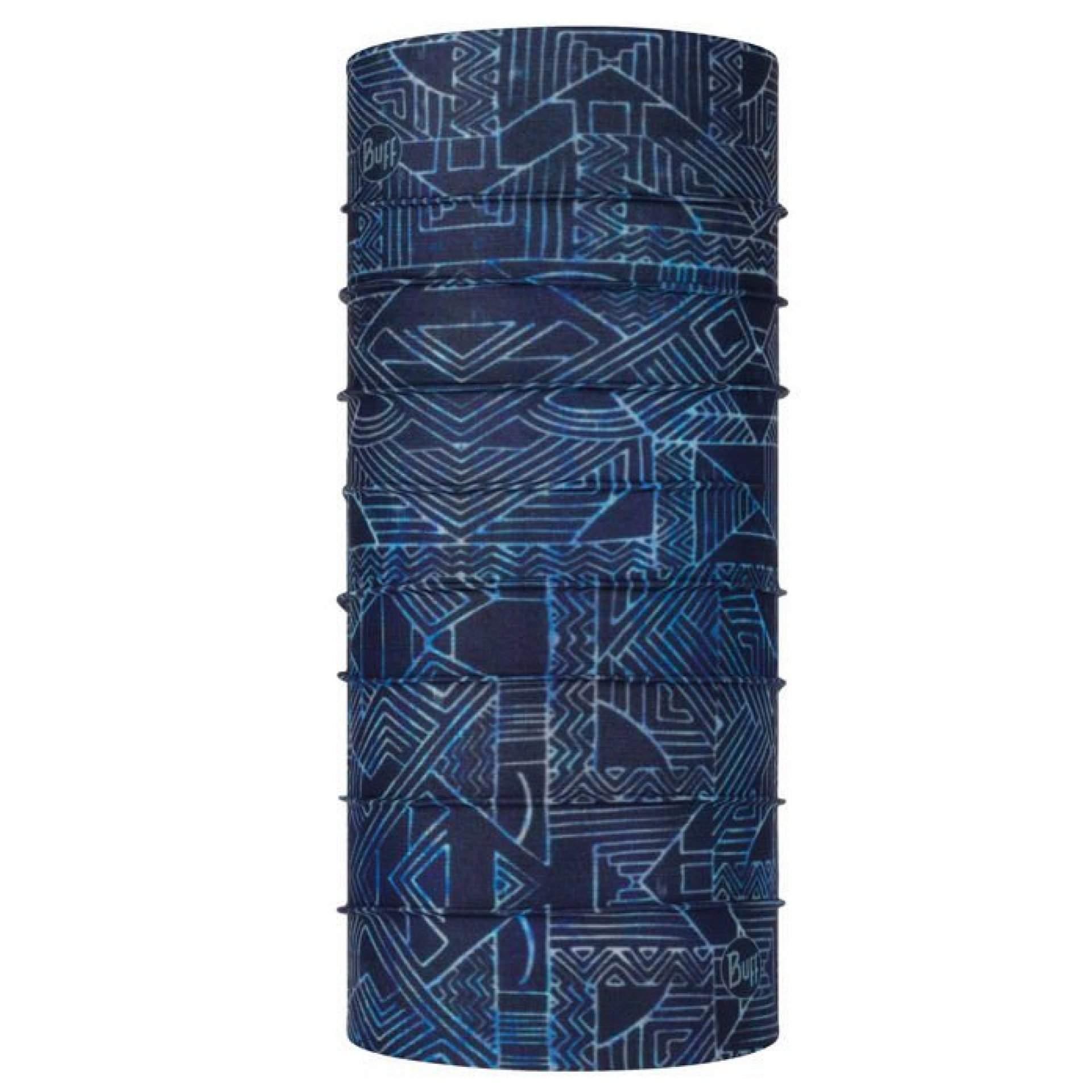 CHUSTA BUFF COOLNET UV+ KASAI NIGHT BLUE