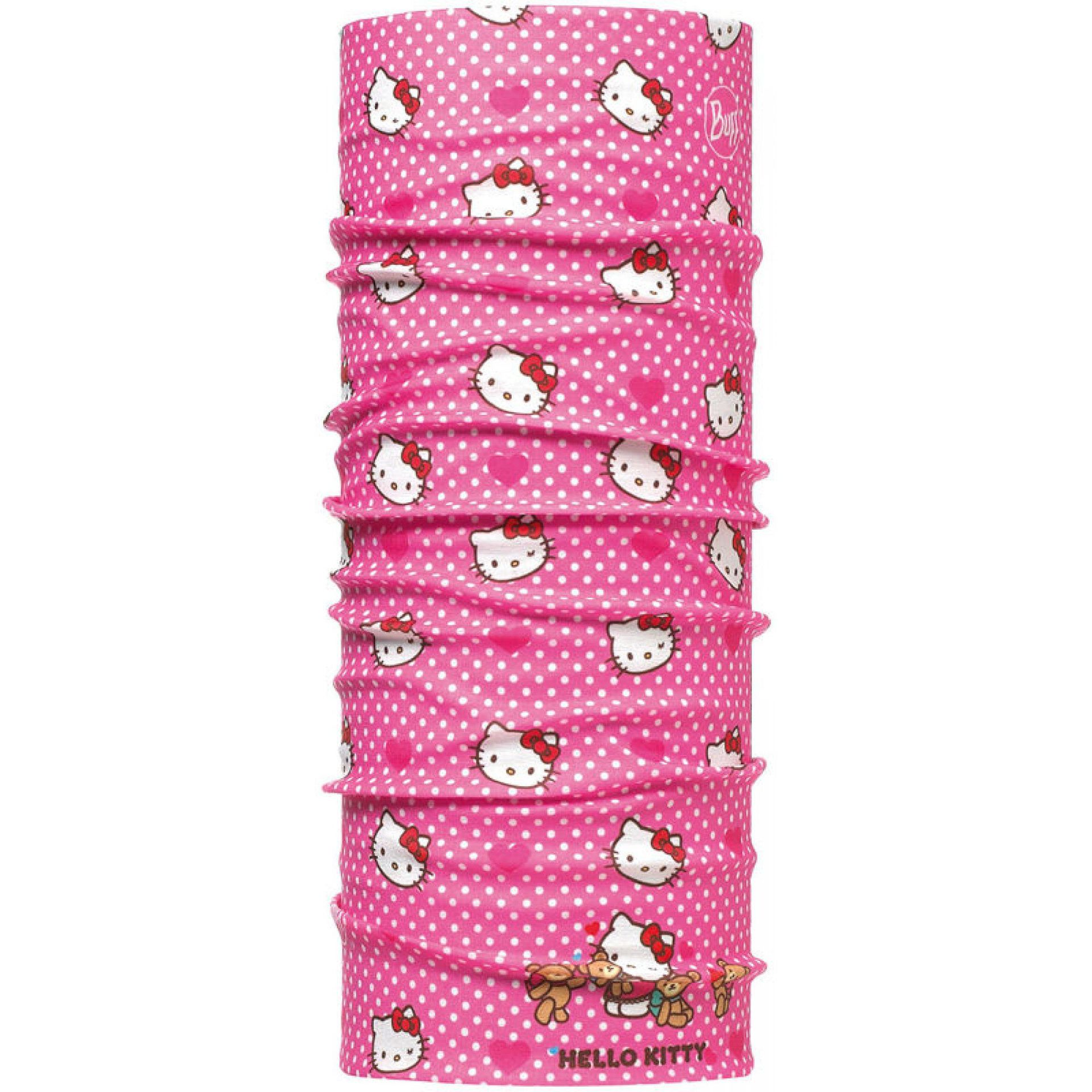 CHUSTA BUFF ORIGINAL CHILD HELLO KITTY HEARTSANDOTS