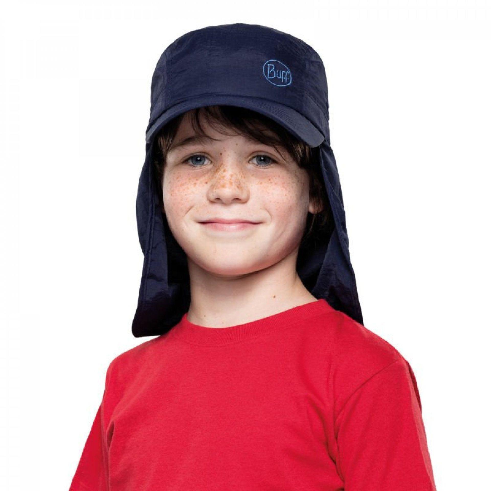 CZAPKA BUFF #BIMINI CAP JR SOLID NAVY 2