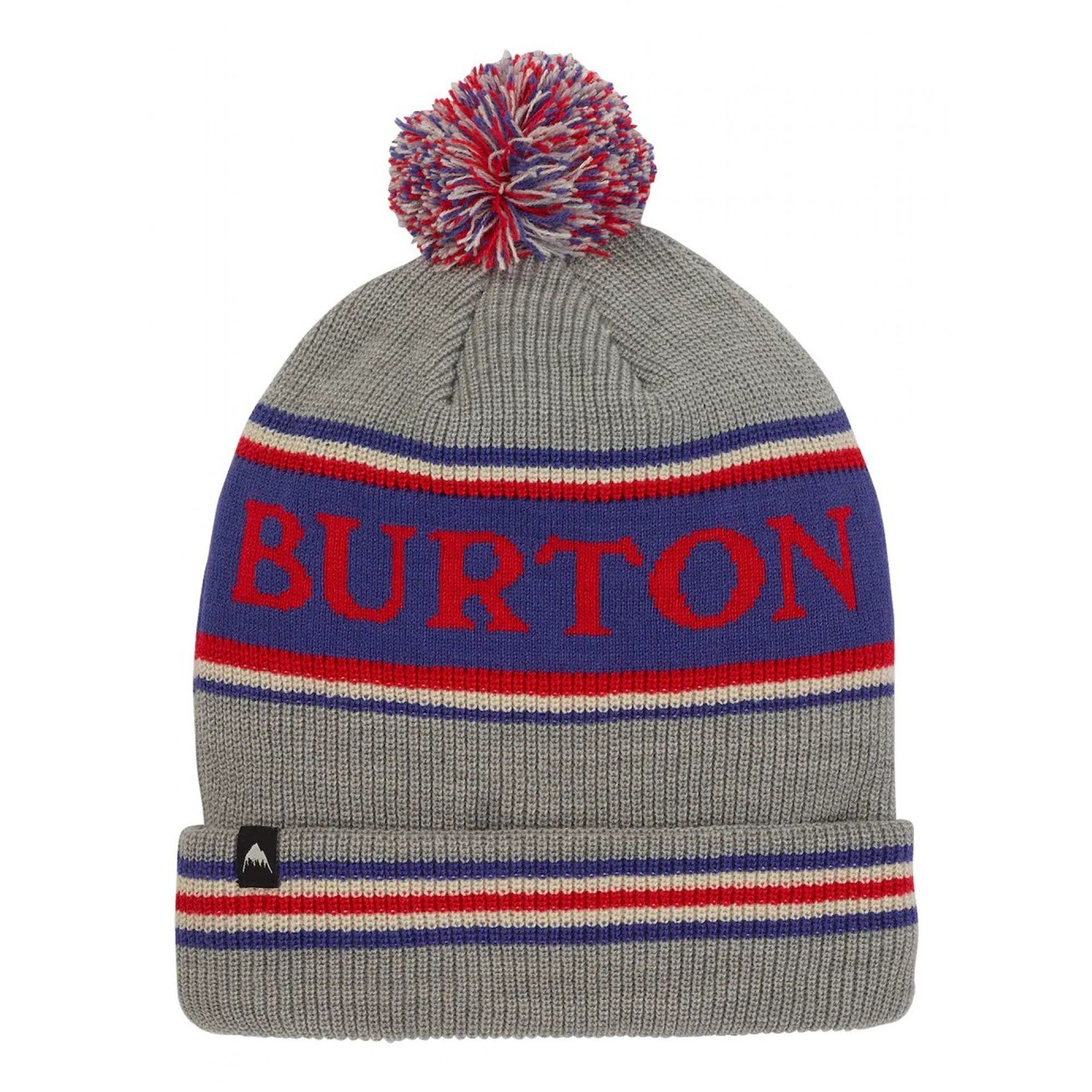CZAPKA BURTON TROPE GRAY HEATHER 104741 020 1
