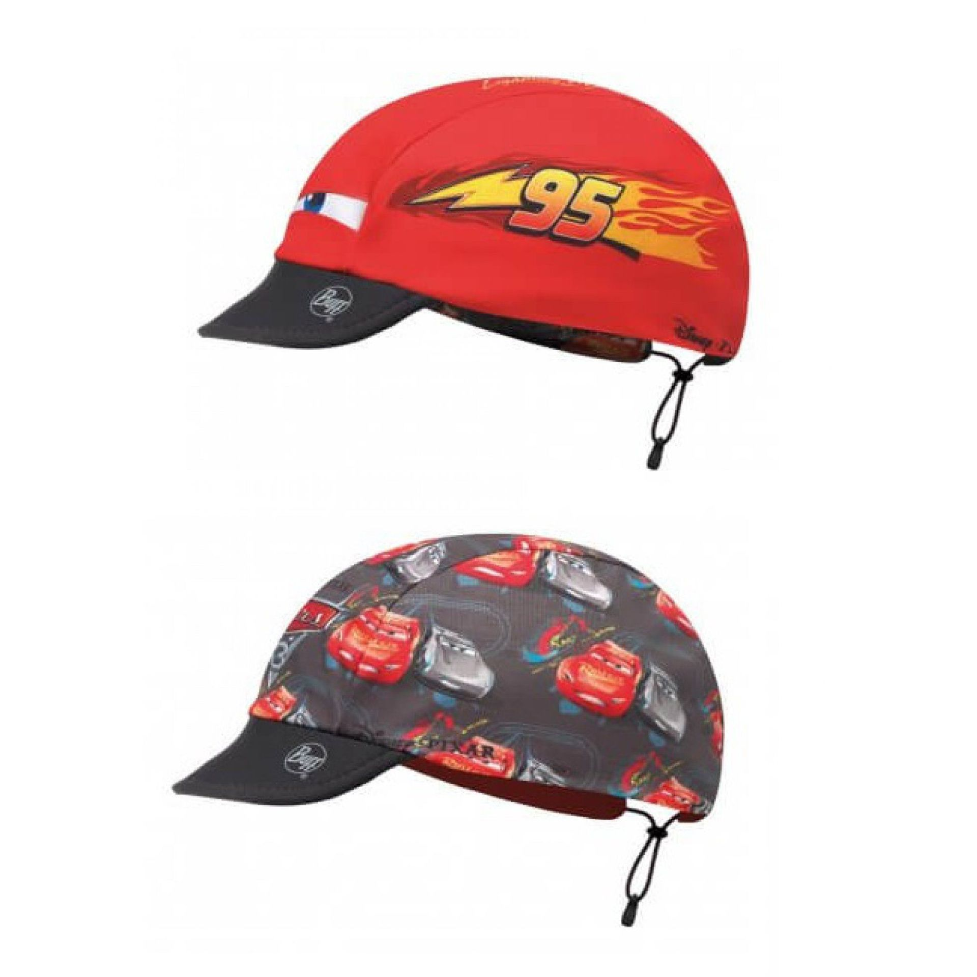 CZAPKA DWUSTRONNA BUFF  CHILD CAP CARS LIGHTING MCQUEEN RED MULTI