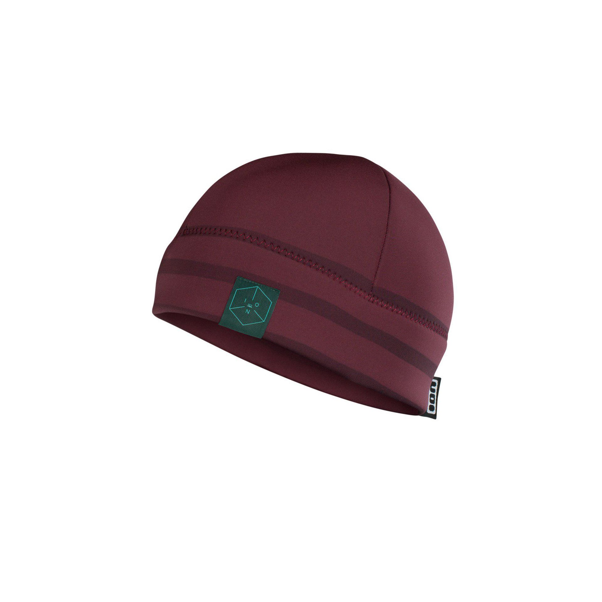 CZAPKA NEOPRENOWA ION NEO LOGO 48800-4183 WINE RED