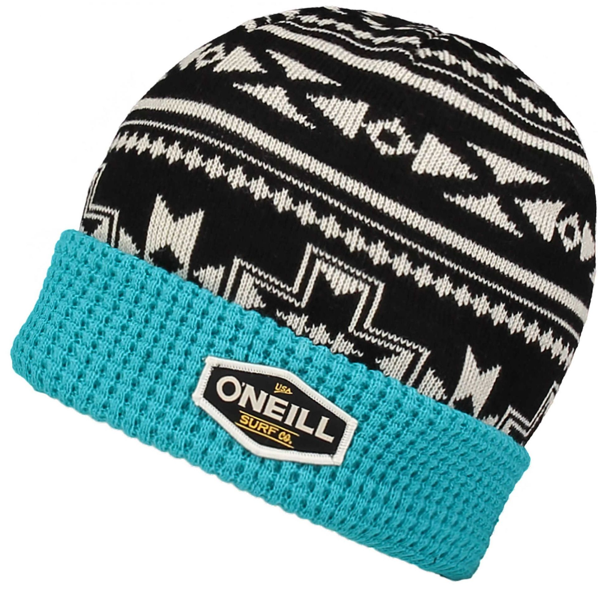 CZAPKA ONEILL BOYS LAYERS BEANIE BLACK AOP