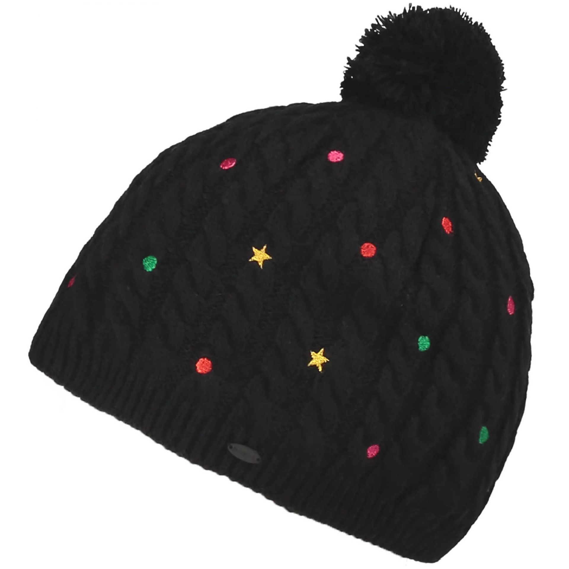 CZAPKA ONEILL GIRLS STAR DOT BEANIE BLACK OUT