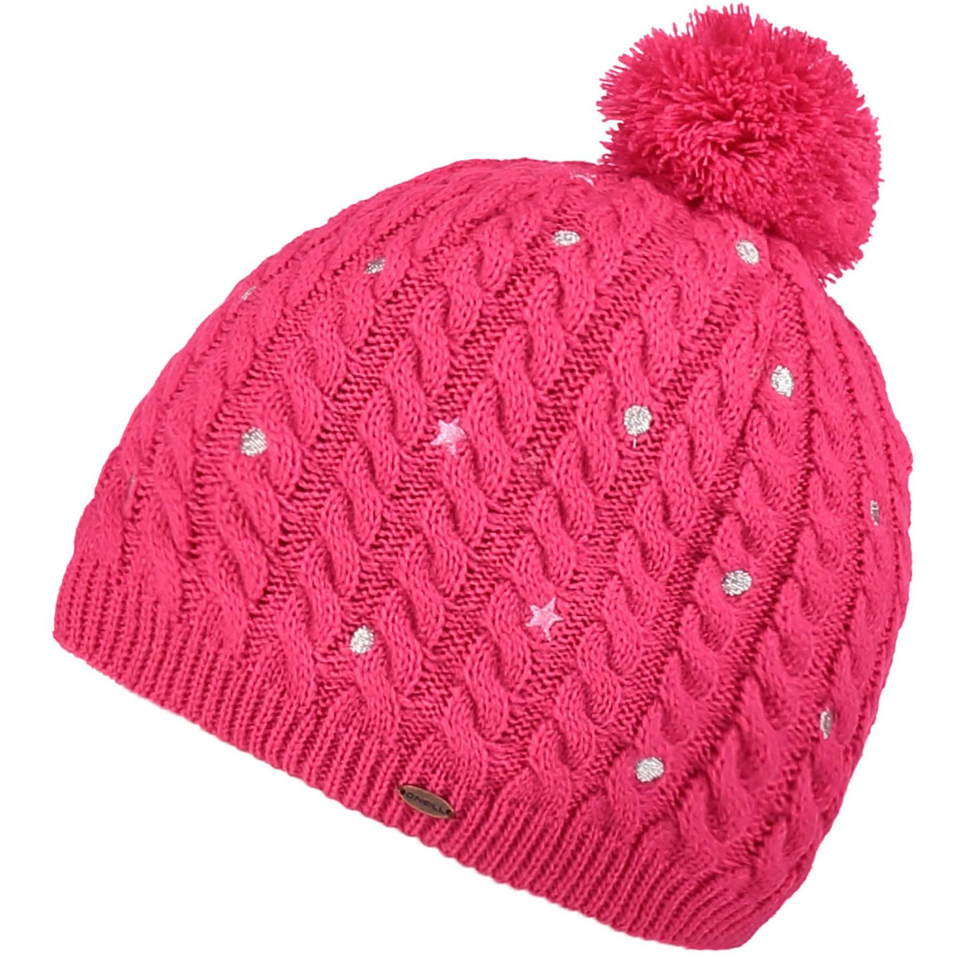 CZAPKA ONEILL GIRLS STAR DOT BEANIE RASPBERRY SORBET