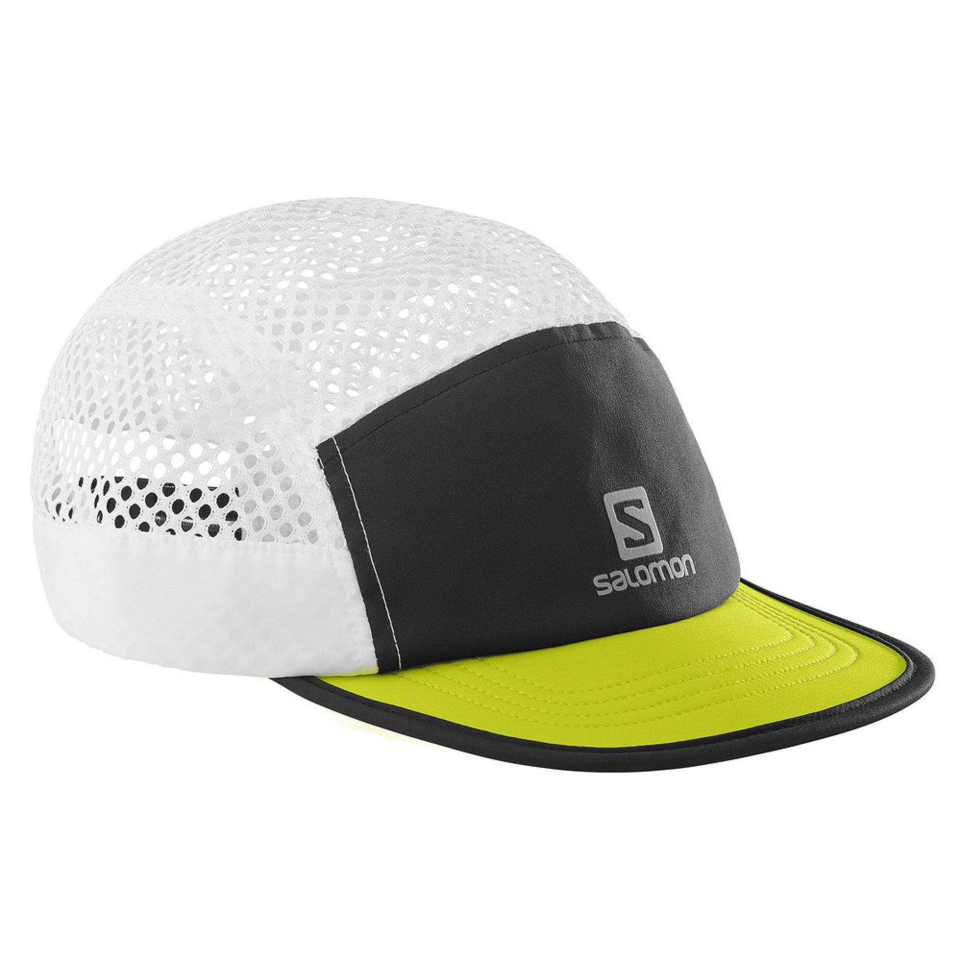 CZAPKA SALOMON AIR LOGO BLACK LIME PUNCH