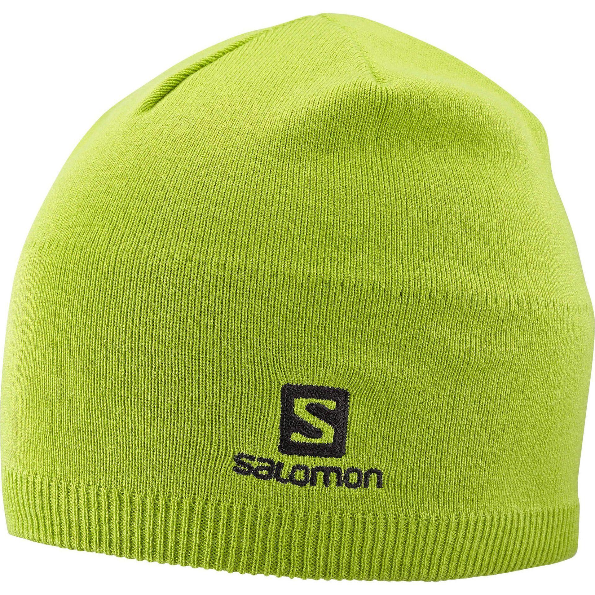 CZAPKA SALOMON SALOMON BEANIE LIME GREEN 402842