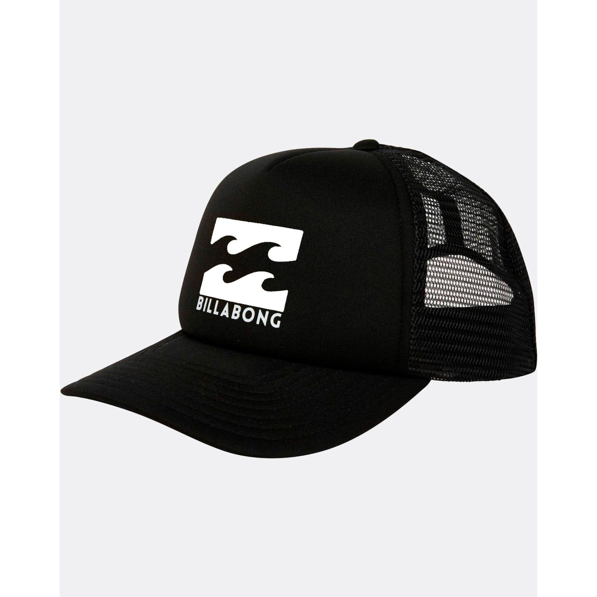 CZAPKA Z DASZKIEM BILLABONG PODIUM BLACK|WHITE