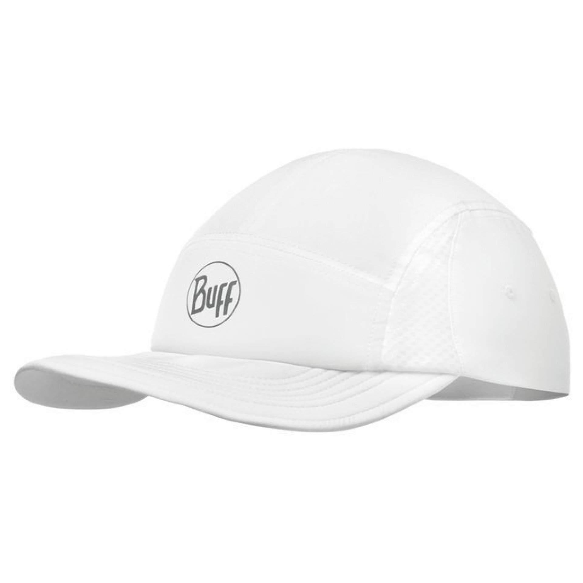 CZAPKA Z DASZKIEM BUFF 5 PANELS CAP R-SOLID WHITE
