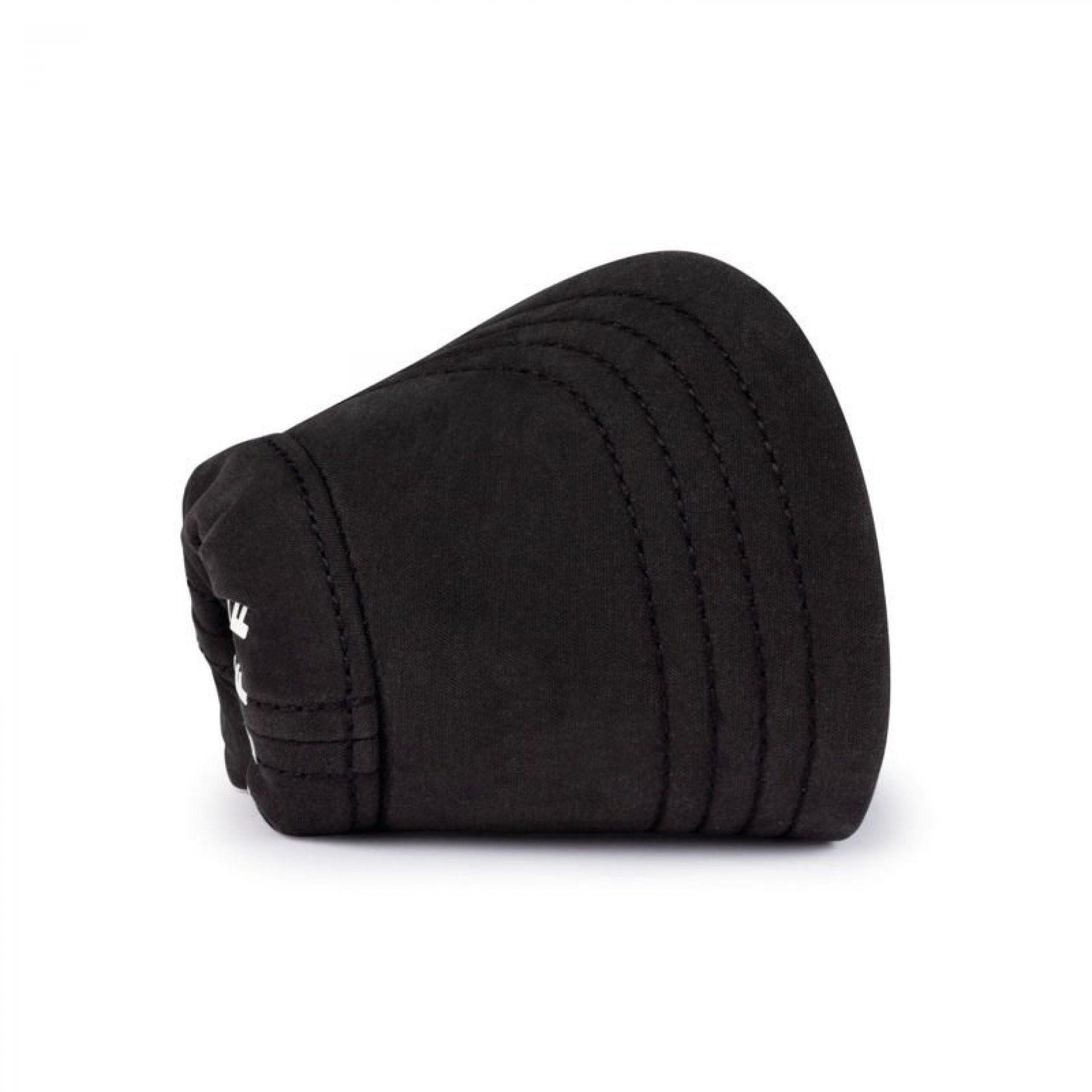 CZAPKA Z DASZKIEM BUFF PACK BASEBALL CAP SOLID BLACK PO ZŁOŻENIU