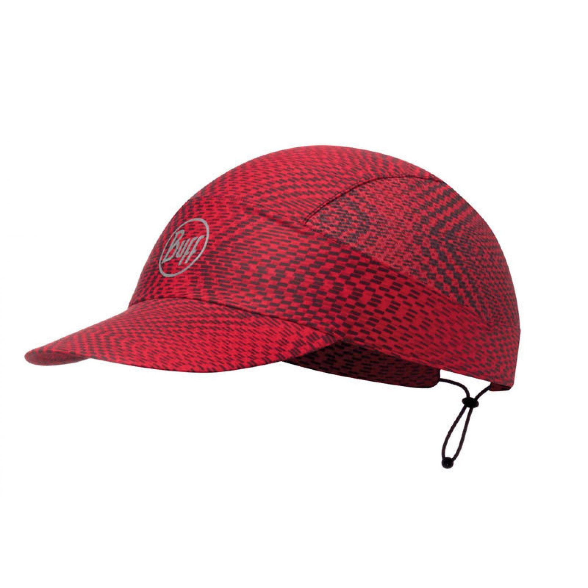 CZAPKA Z DASZKIEM BUFF PACK RUN CAP R-JAM RED