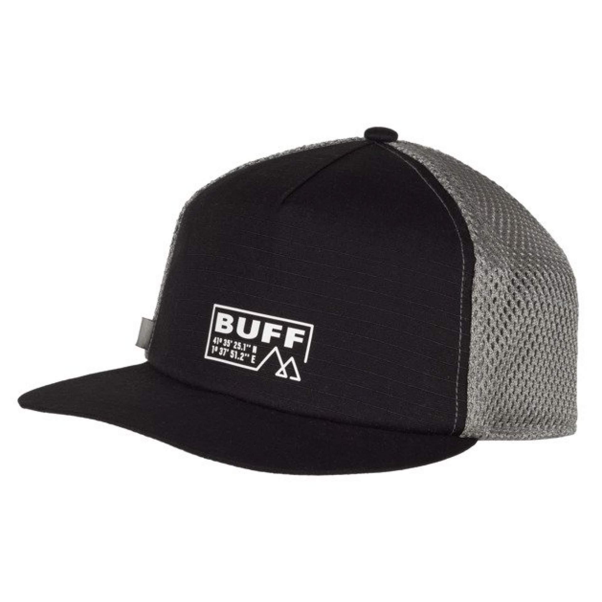 CZAPKA Z DASZKIEM BUFF PACK TRUCKER CAP SOLID BLACK