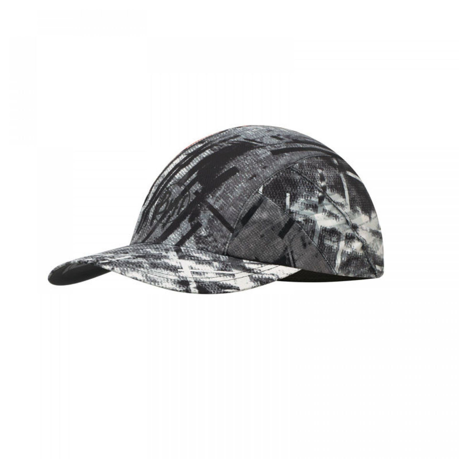 CZAPKA Z DASZKIEM BUFF PRO RUN CAP R-CITY JUNGLE GREY