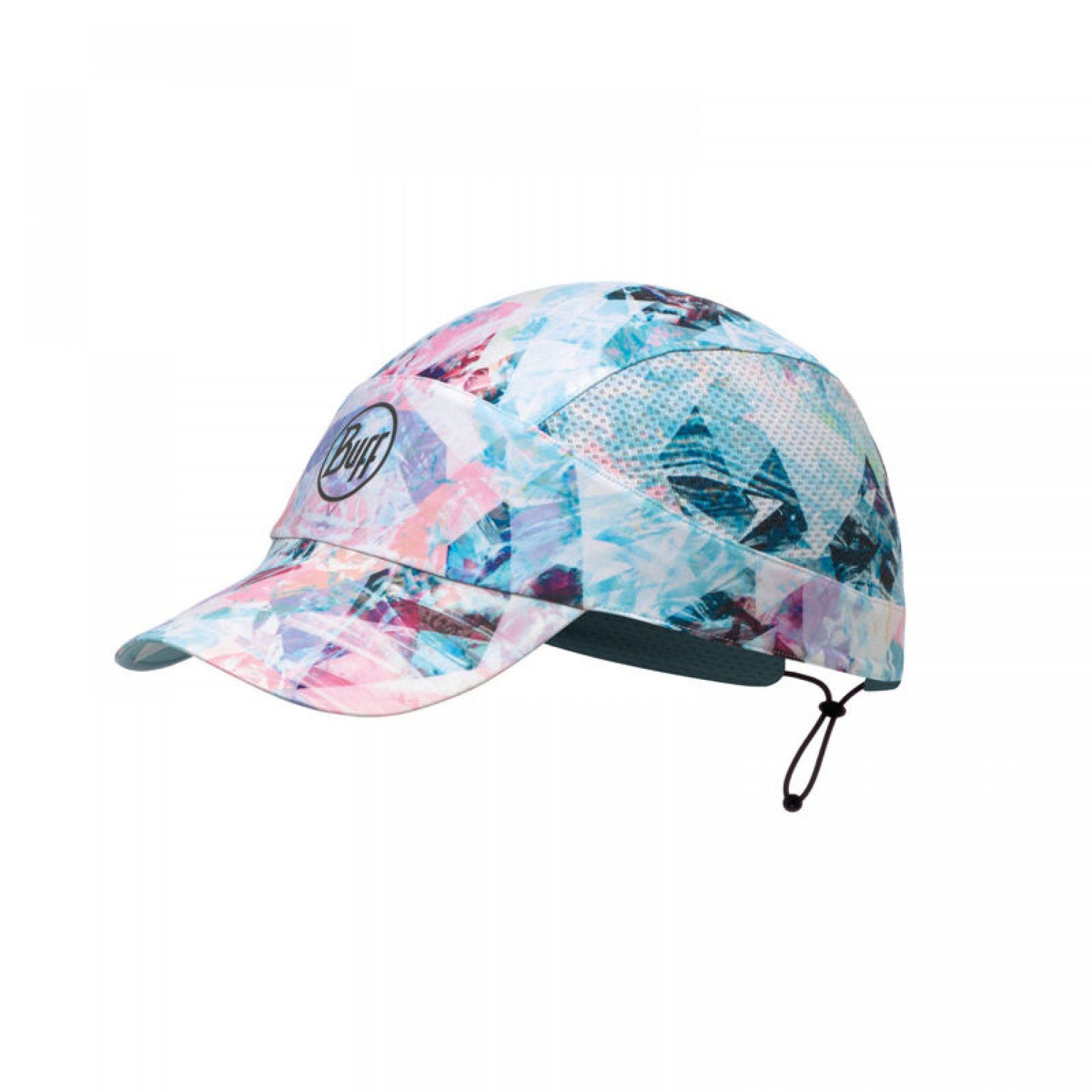 CZAPKA Z DASZKIEM BUFF PRO RUN CAP R-IRISED AQUA