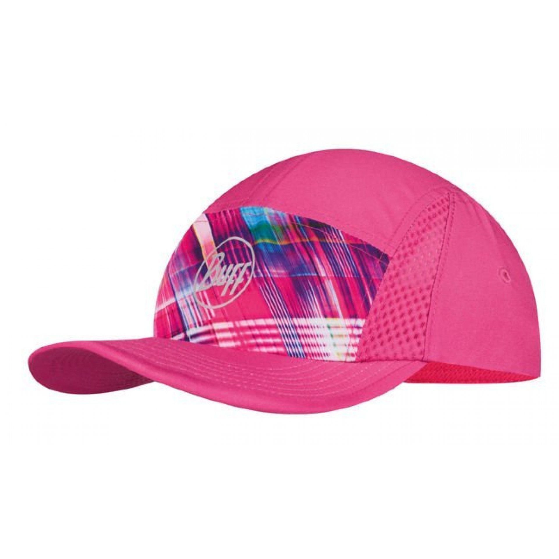 CZAPKA Z DASZKIEM BUFF RUN CAP B-MAGIC PINK