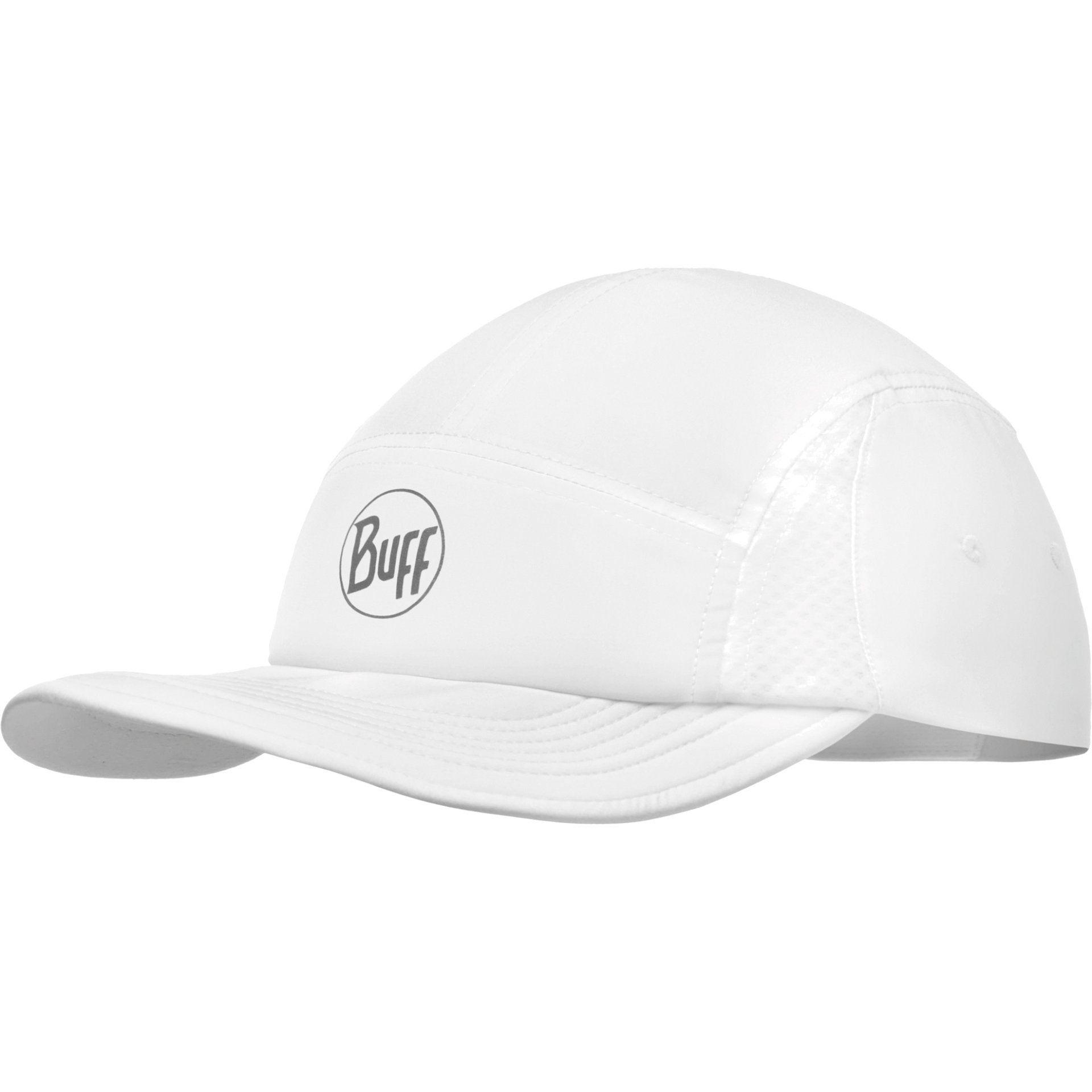 CZAPKA Z DASZKIEM BUFF RUN CAP R-SOLID WHITE