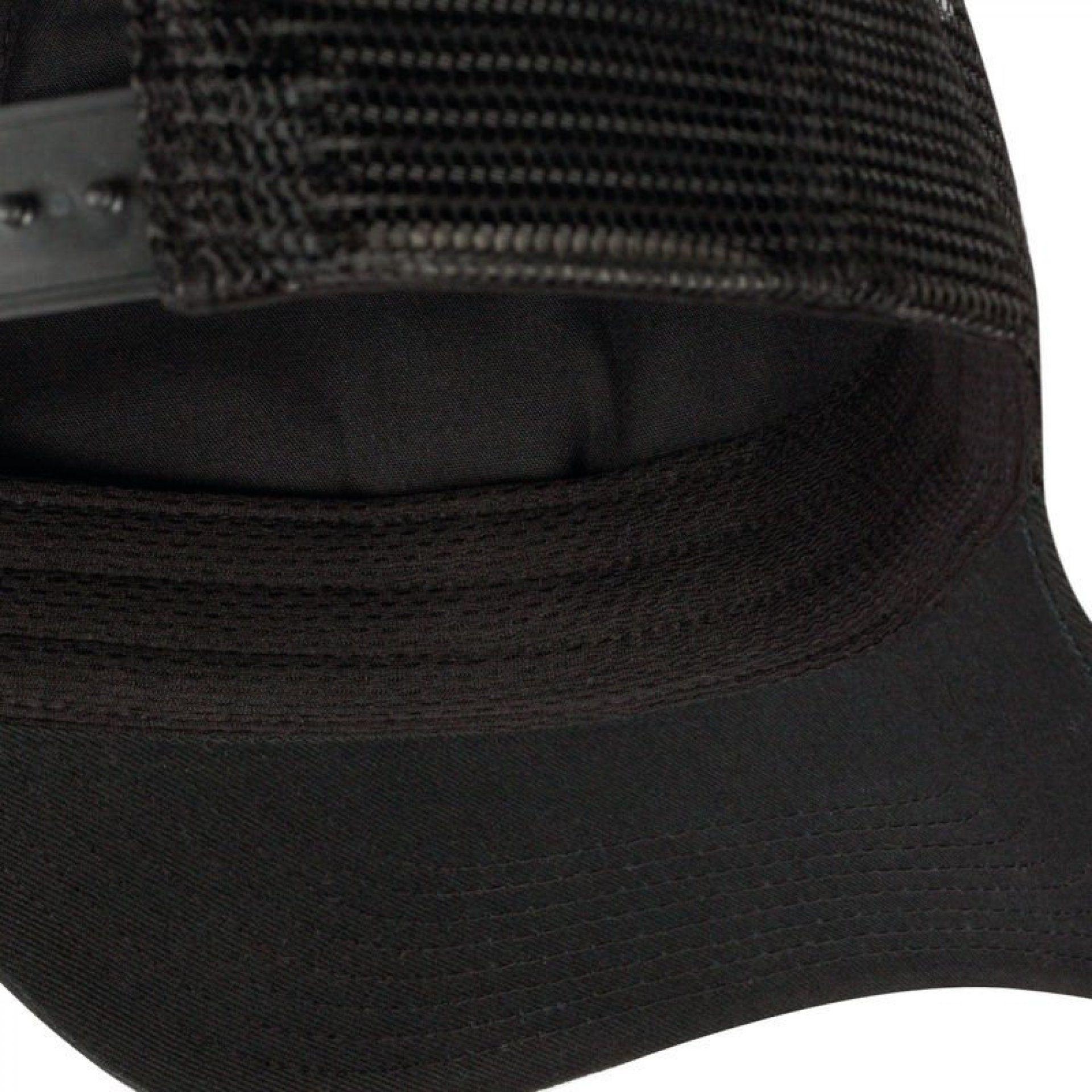 CZAPKA Z DASZKIEM BUFF TRUCKER CAP APE-X BLACK WEWNĄTRZ