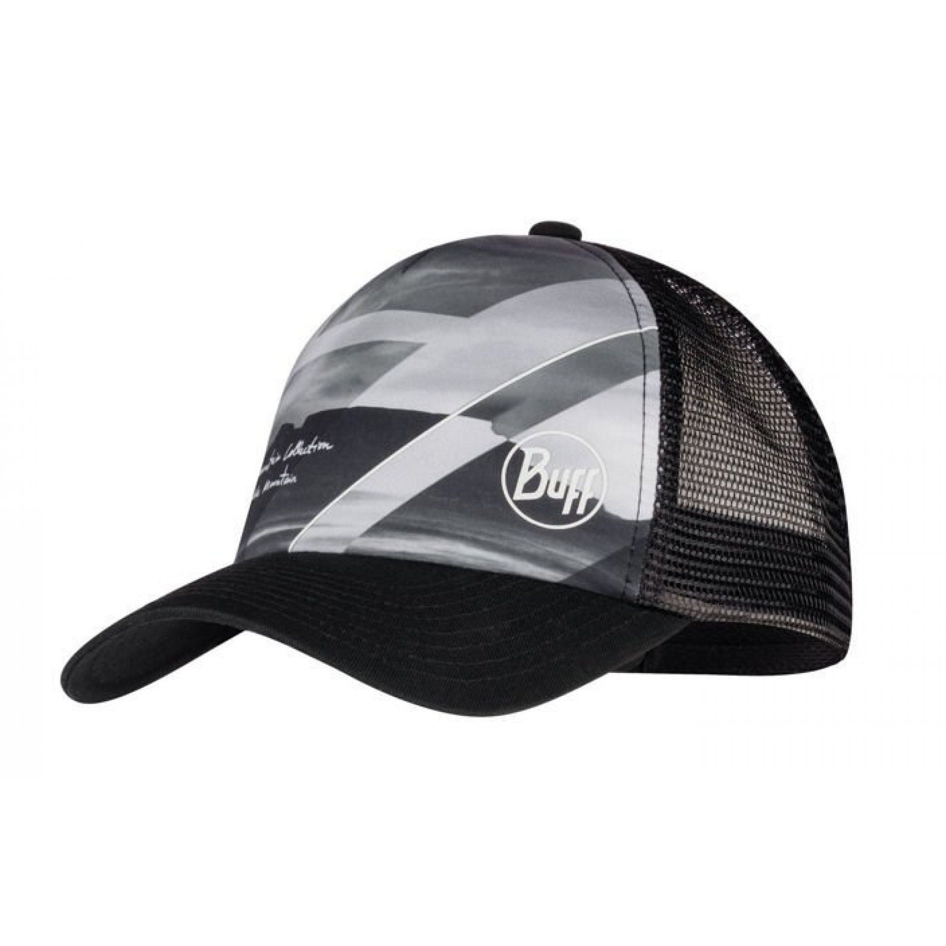 CZAPKA Z DASZKIEM BUFF TRUCKER CAP TABLE MOUNTAIN BLACK