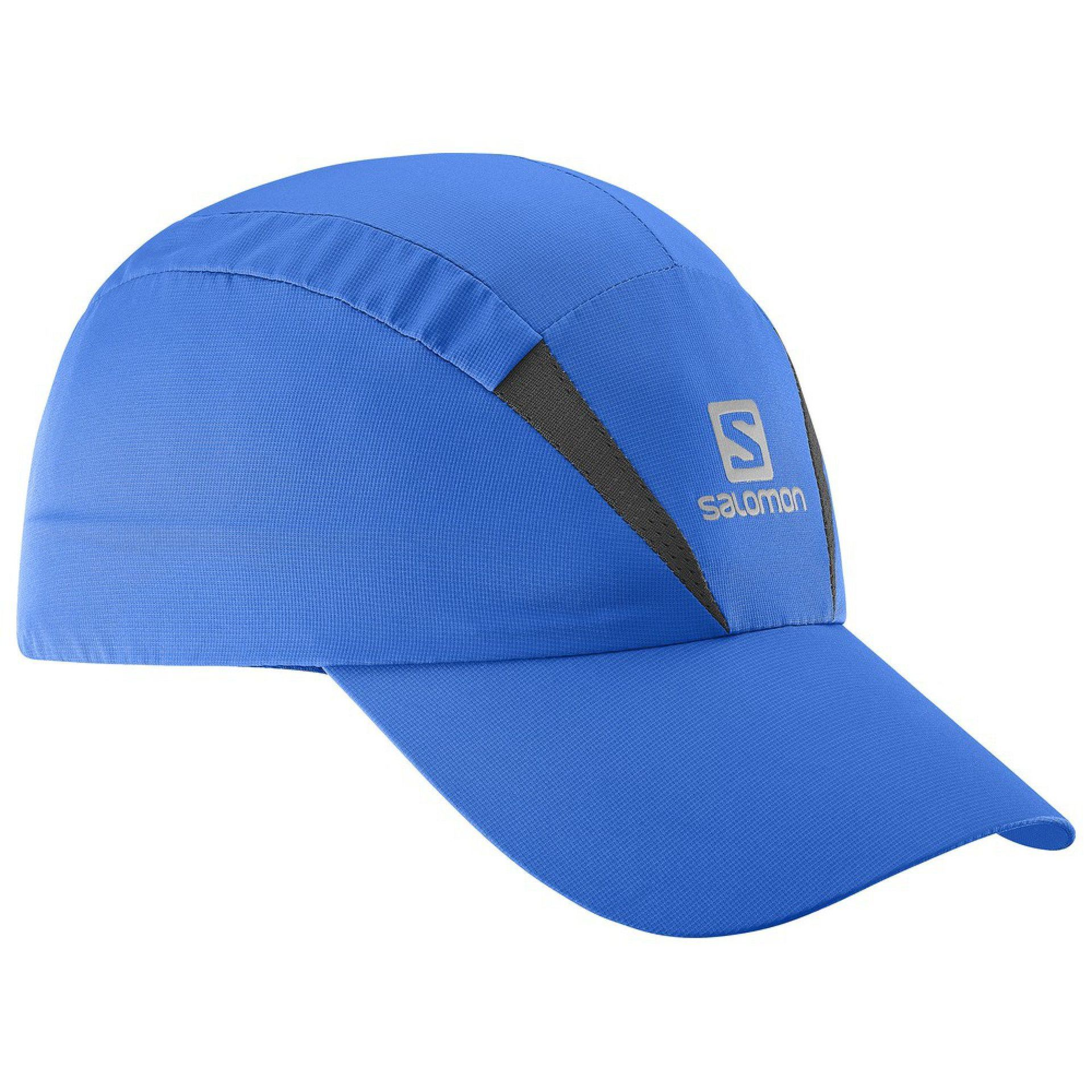 CZAPKA Z DASZKIEM SALOMON XA CAP PRINCE BLUE