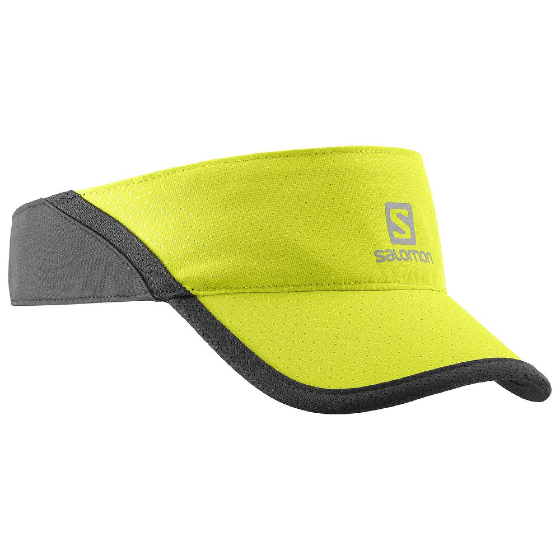 CZAPKA Z DASZKIEM SALOMON XA VISOR LIME PUNCH BLACK