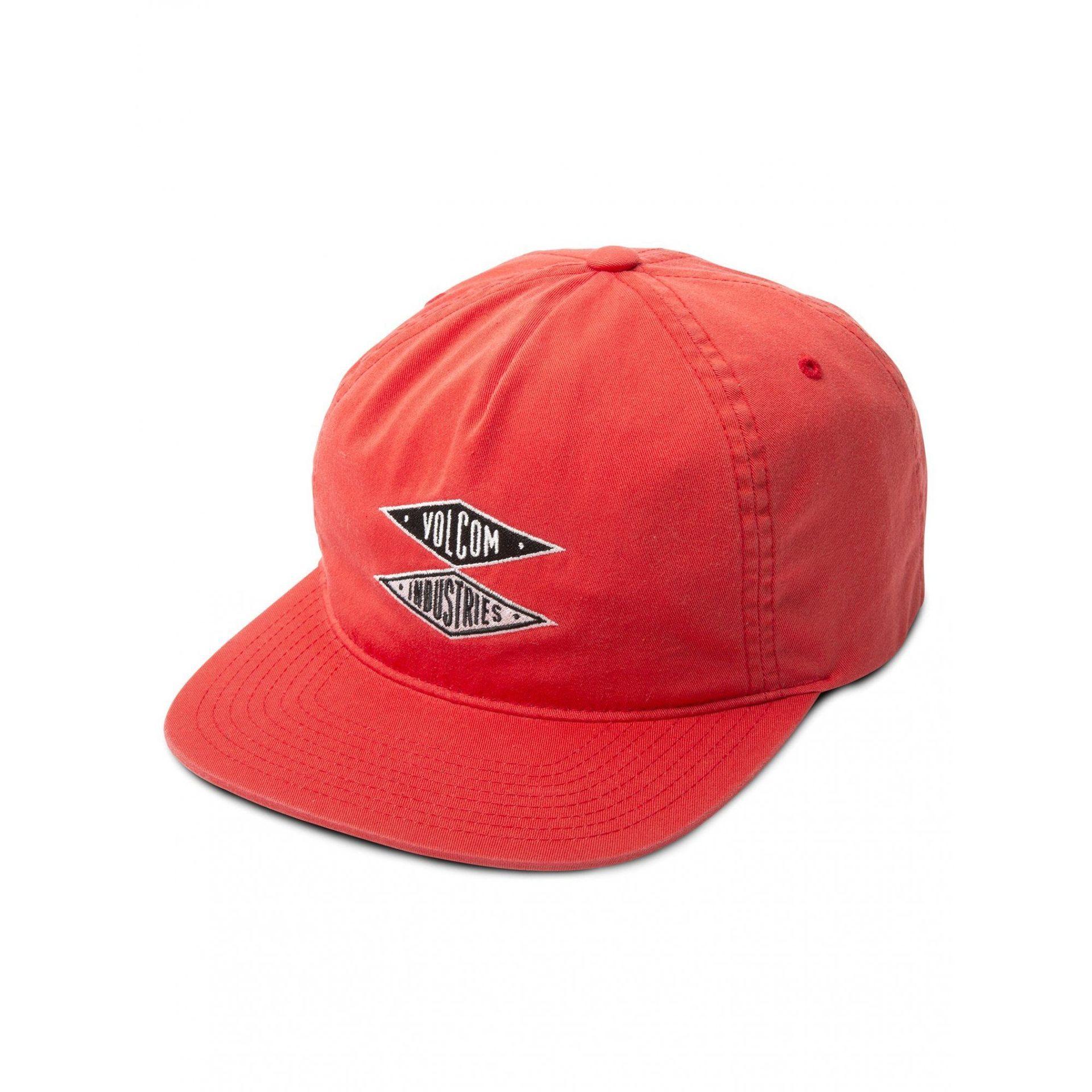 CZAPKA Z DASZKIEM VOLCOM V.I. CAP A5511950-BRIGHT RED