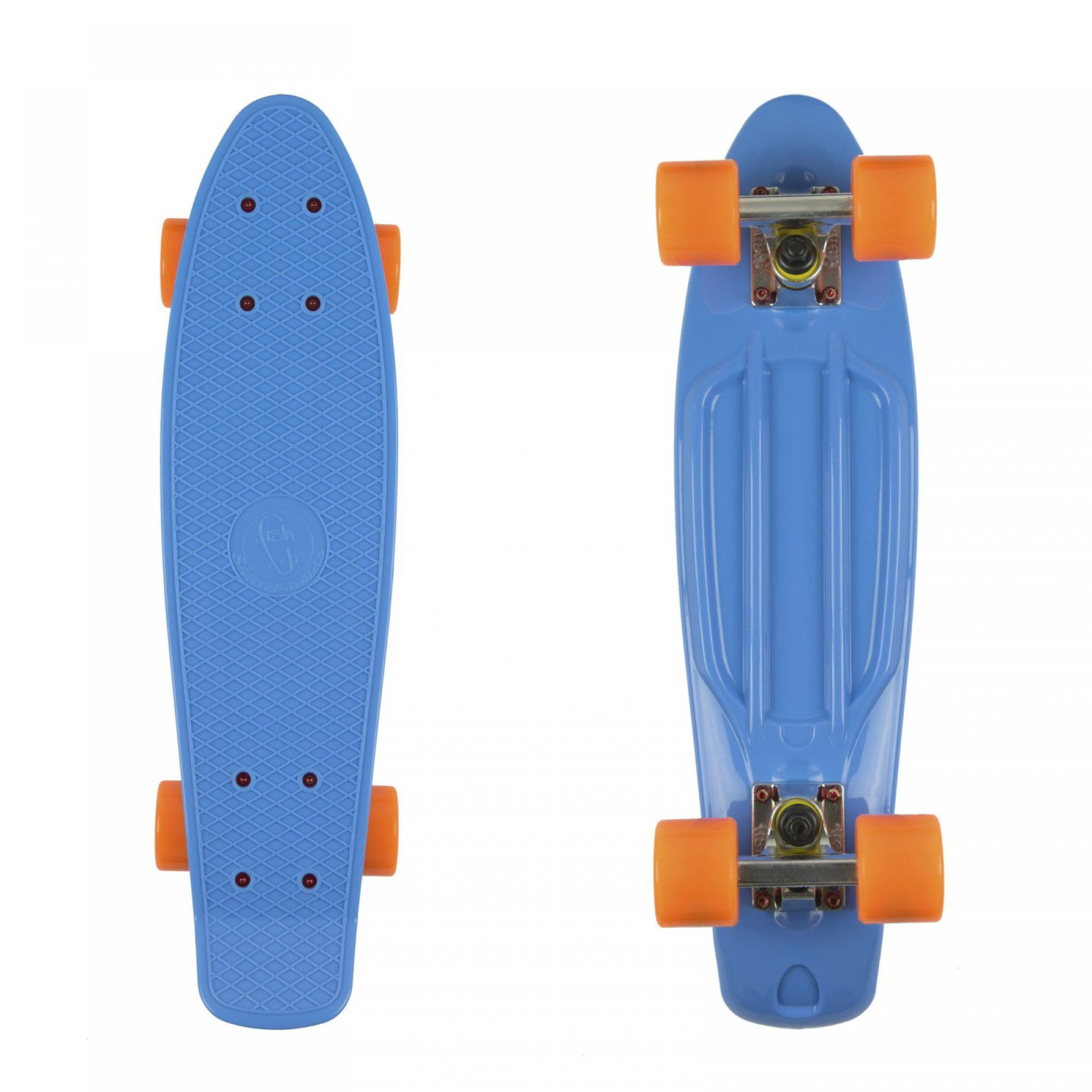 FISHBOARD FISH SKATEBOARDS BLUE|SILVER|ORANGE