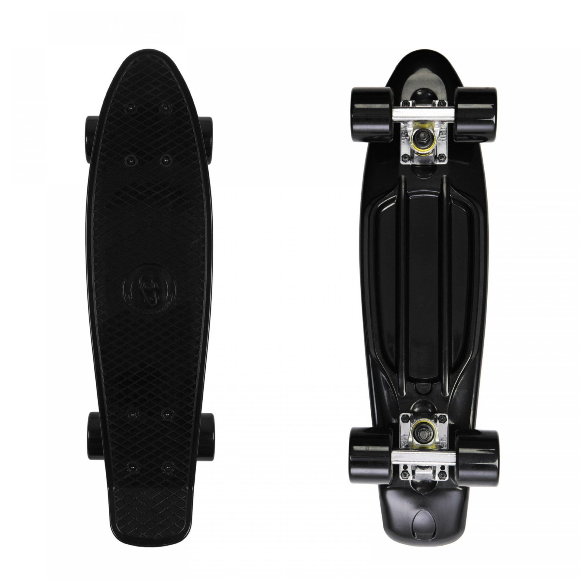 FISHBOARD FISH SKATEBOARDS CLASSIC BLACK|SILVER|BLACK 1