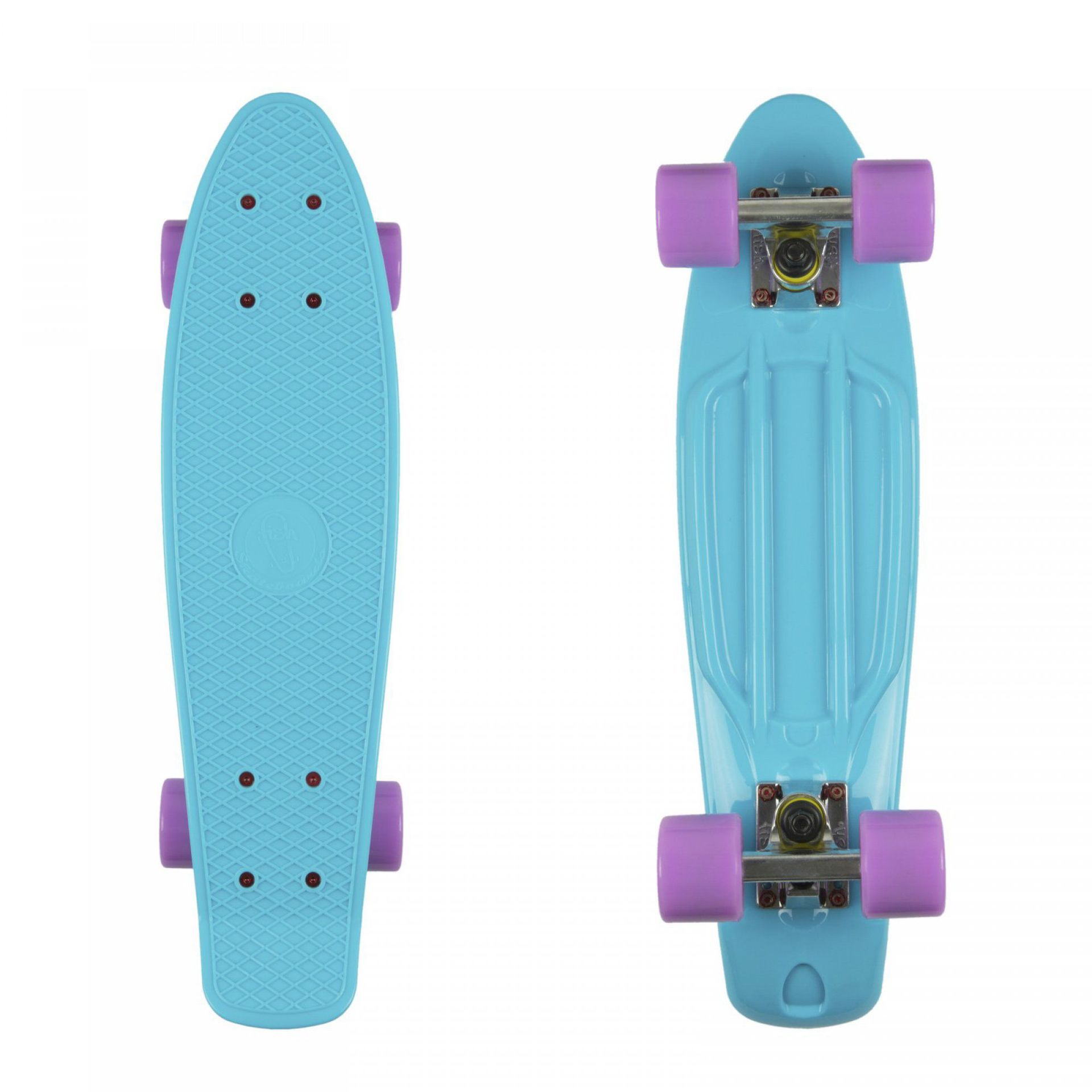 FISHBOARD FISH SKATEBOARDS CLASSIC SUMMER BLUE|SILVER|SUMMER PURPLE 1