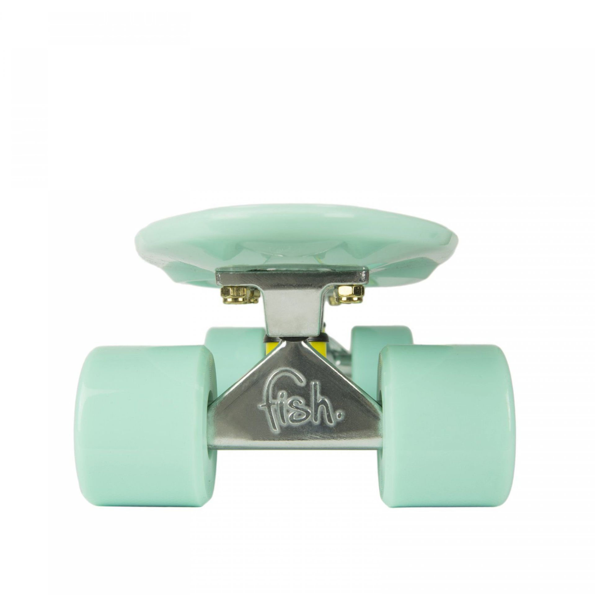 FISHBOARD FISH SKATEBOARDS CLASSIC SUMMER GREEN SILVER GREEN 1