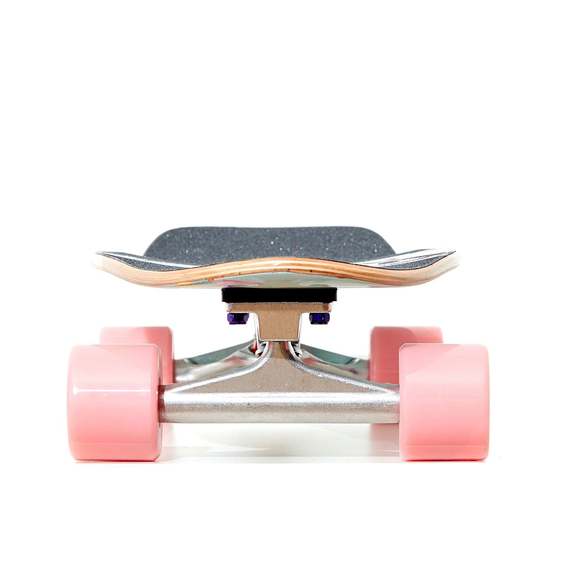 FISHBOARD FISH SKATEBOARDS CRUISER 26 PARTY|SILVER|SUMMER PINK 2