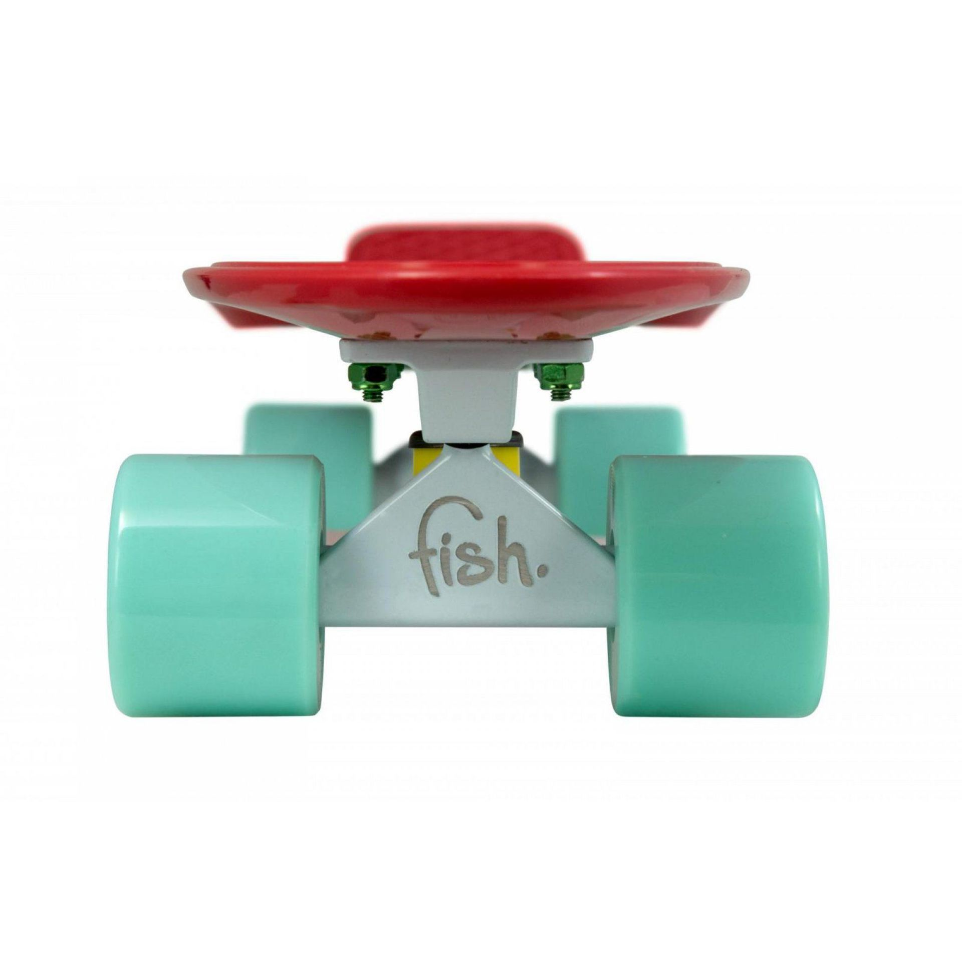 FISHBOARD FISH SKATEBOARDS RED|WHITE|SUMMER GREEN 2